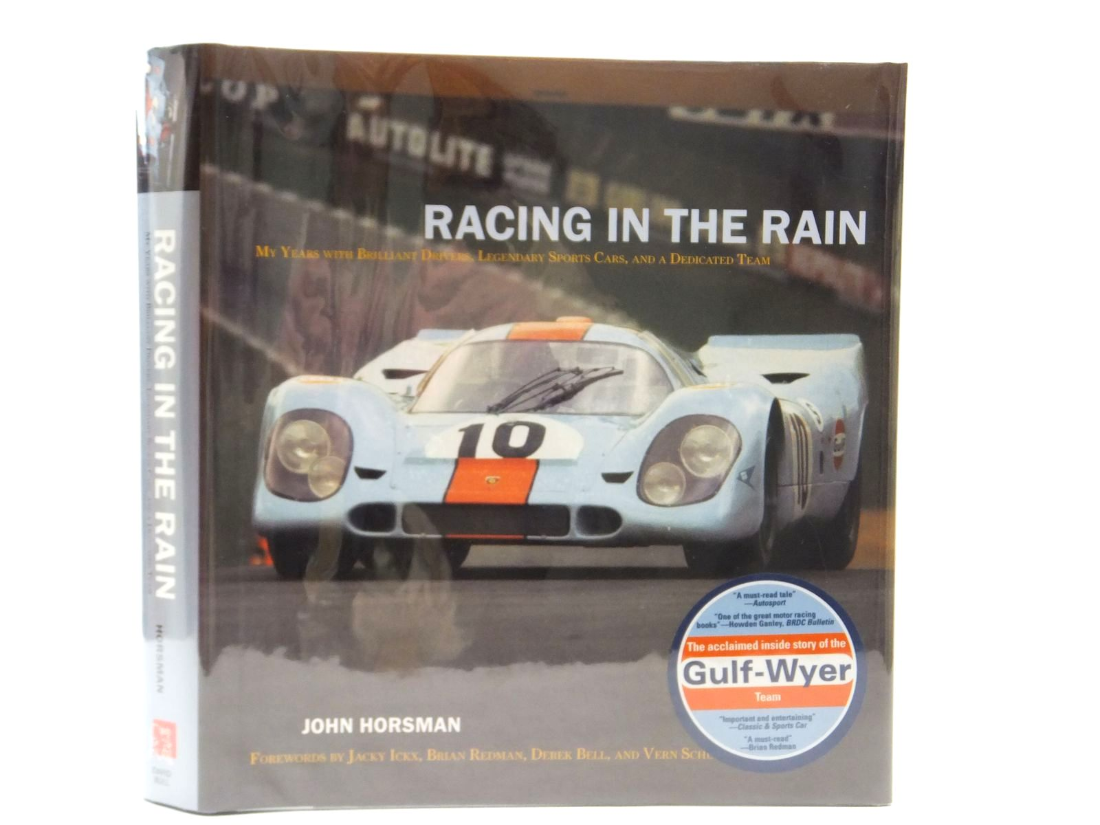 Photo of RACING IN THE RAIN written by Horsman, John published by David Bull Publishing (STOCK CODE: 2122258)  for sale by Stella & Rose's Books