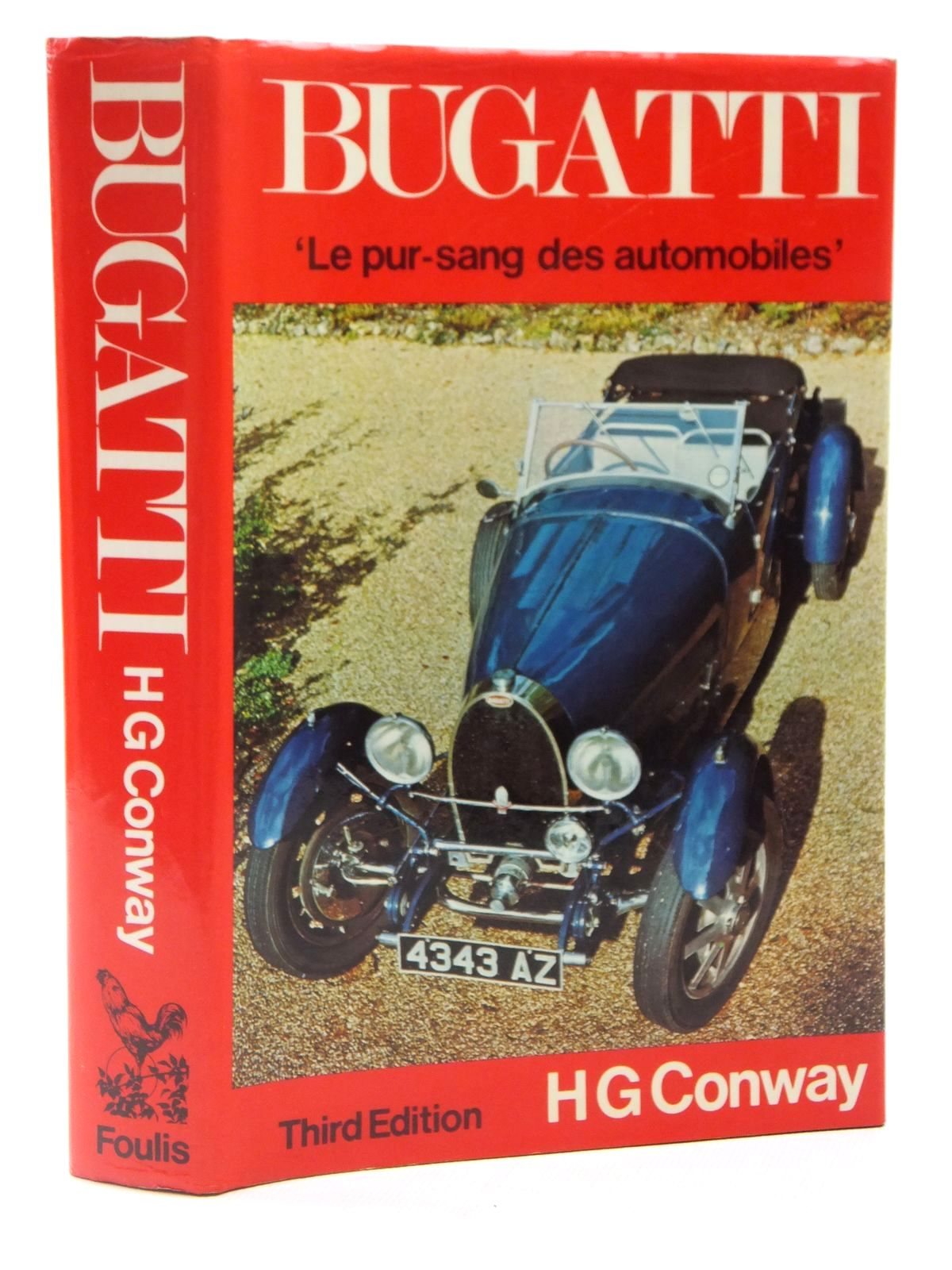 Photo of BUGATTI LE PUR-SANG DES AUTOMOBILES written by Conway, H.G. published by G.T. Foulis & Co. Ltd. (STOCK CODE: 2122276)  for sale by Stella & Rose's Books