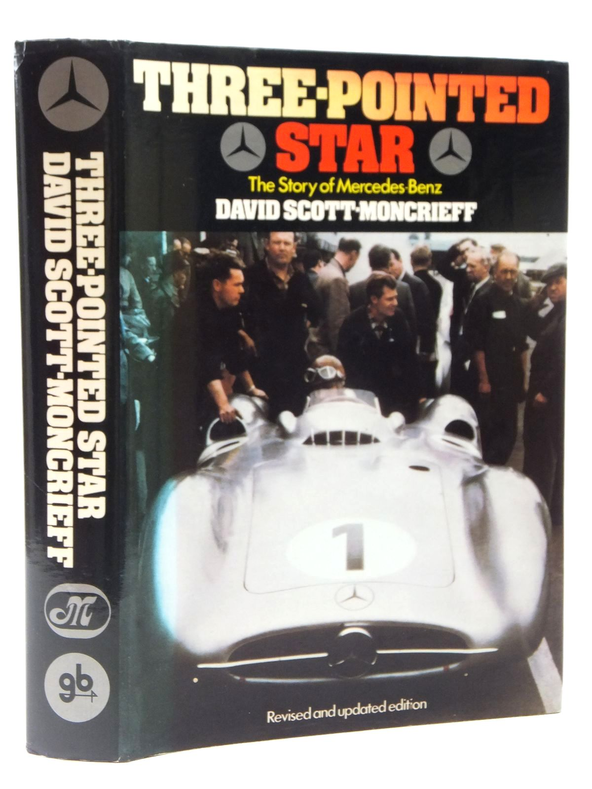 Photo of THREE-POINTED STAR THE STORY OF MERCEDES-BENZ written by Scott-Moncrieff, David published by Gentry Books (STOCK CODE: 2122278)  for sale by Stella & Rose's Books