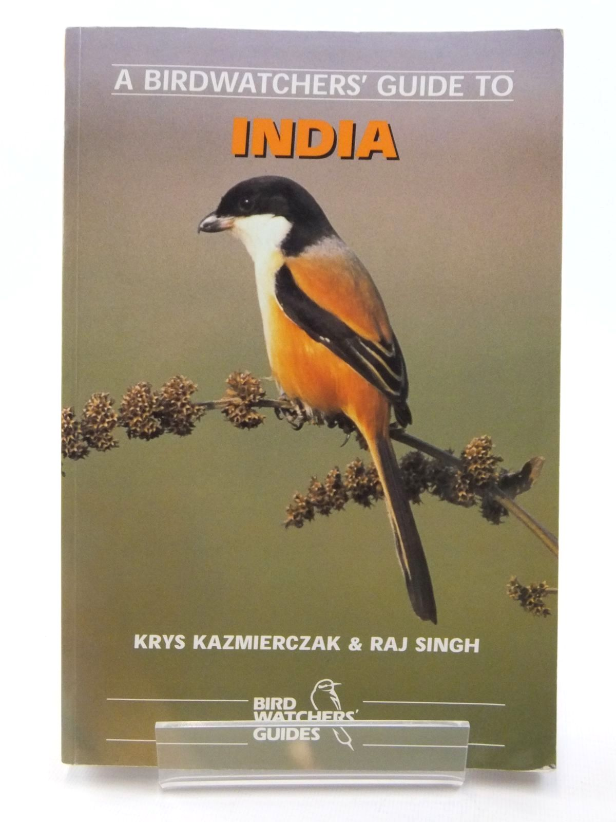 Photo of A BIRDWATCHERS' GUIDE TO INDIA written by Kazmierczak, Krys<br />Singh, Raj illustrated by Anderton, John C.<br />D'Silva, Carl published by Prion Ltd. (STOCK CODE: 2122334)  for sale by Stella & Rose's Books
