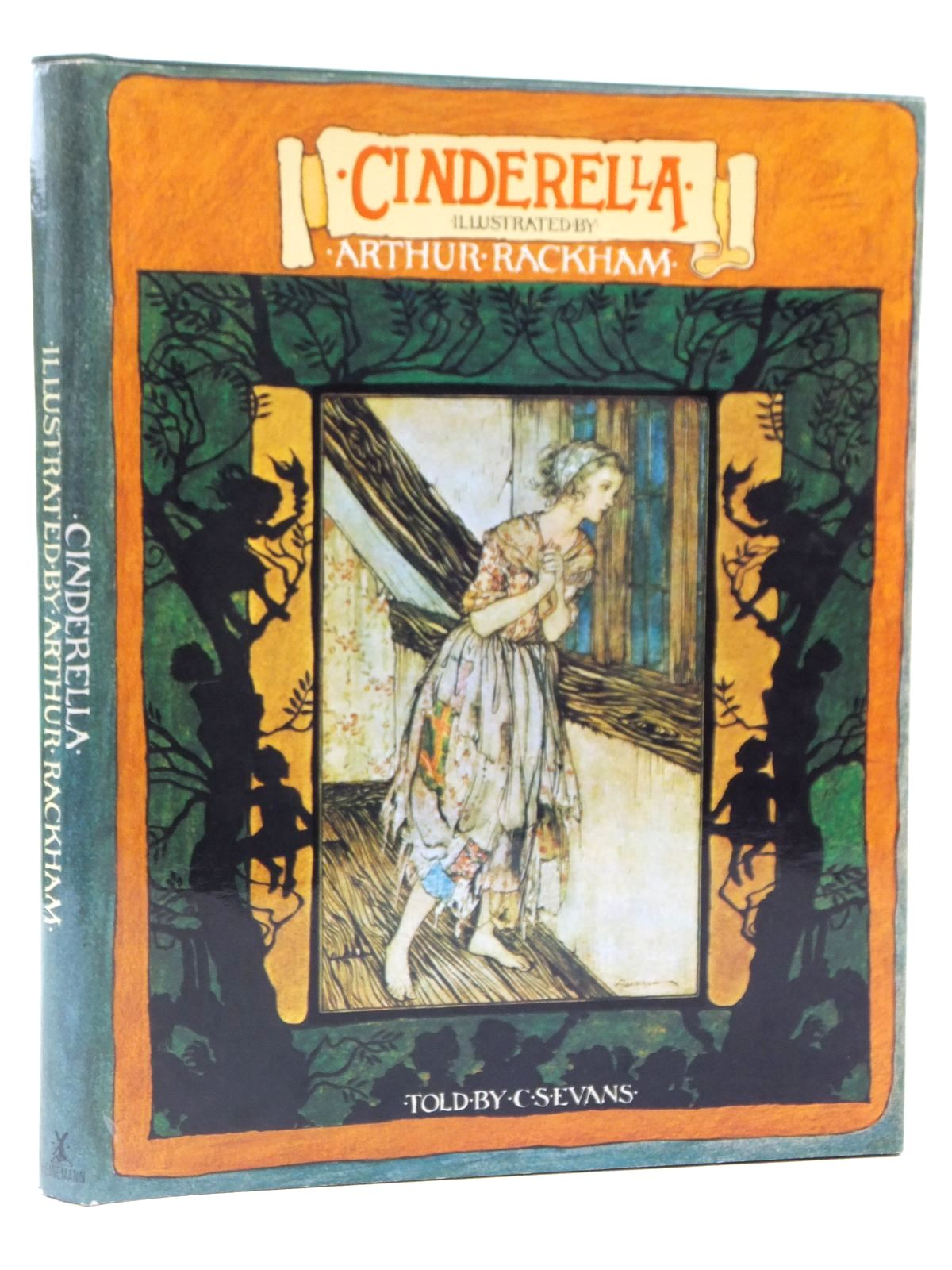 Photo of CINDERELLA written by Evans, C.S. illustrated by Rackham, Arthur published by William Heinemann (STOCK CODE: 2122369)  for sale by Stella & Rose's Books