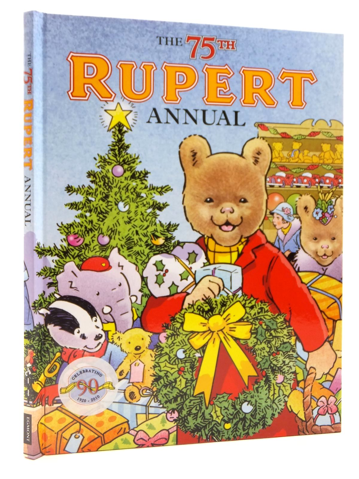 Photo of RUPERT ANNUAL 2010 written by Trotter, Stuart published by Egmont Books Ltd. (STOCK CODE: 2122387)  for sale by Stella & Rose's Books
