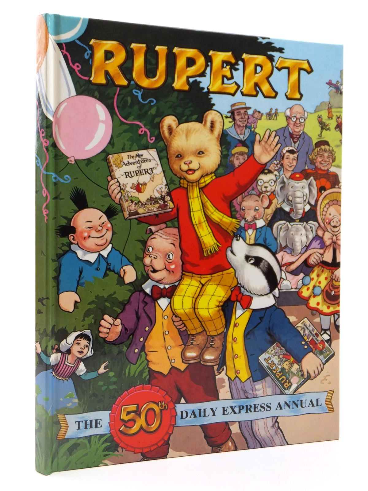 Photo of RUPERT ANNUAL 1985 written by Bestall, Alfred<br />Henderson, James illustrated by Bestall, Alfred<br />Harrold, John published by Express Newspapers Ltd. (STOCK CODE: 2122390)  for sale by Stella & Rose's Books
