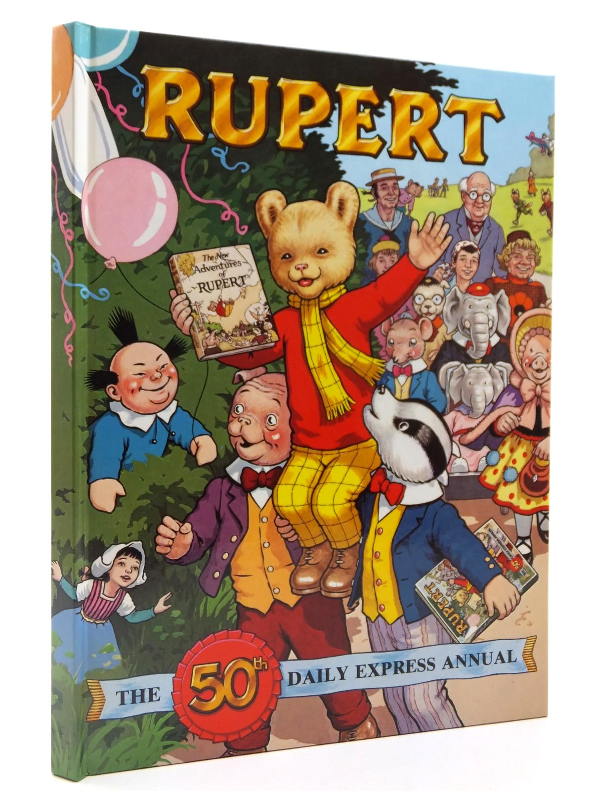 Photo of RUPERT ANNUAL 1985 written by Bestall, Alfred<br />Henderson, James illustrated by Bestall, Alfred<br />Harrold, John published by Express Newspapers Ltd. (STOCK CODE: 2122392)  for sale by Stella & Rose's Books