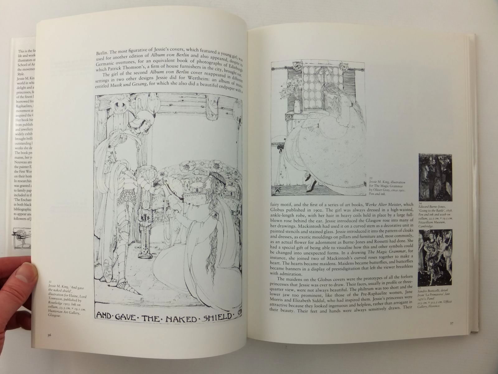 Photo of THE ENCHANTED WORLD OF JESSIE M. KING written by White, Colin illustrated by King, Jessie M. published by Canongate Publishing Limited (STOCK CODE: 2122442)  for sale by Stella & Rose's Books