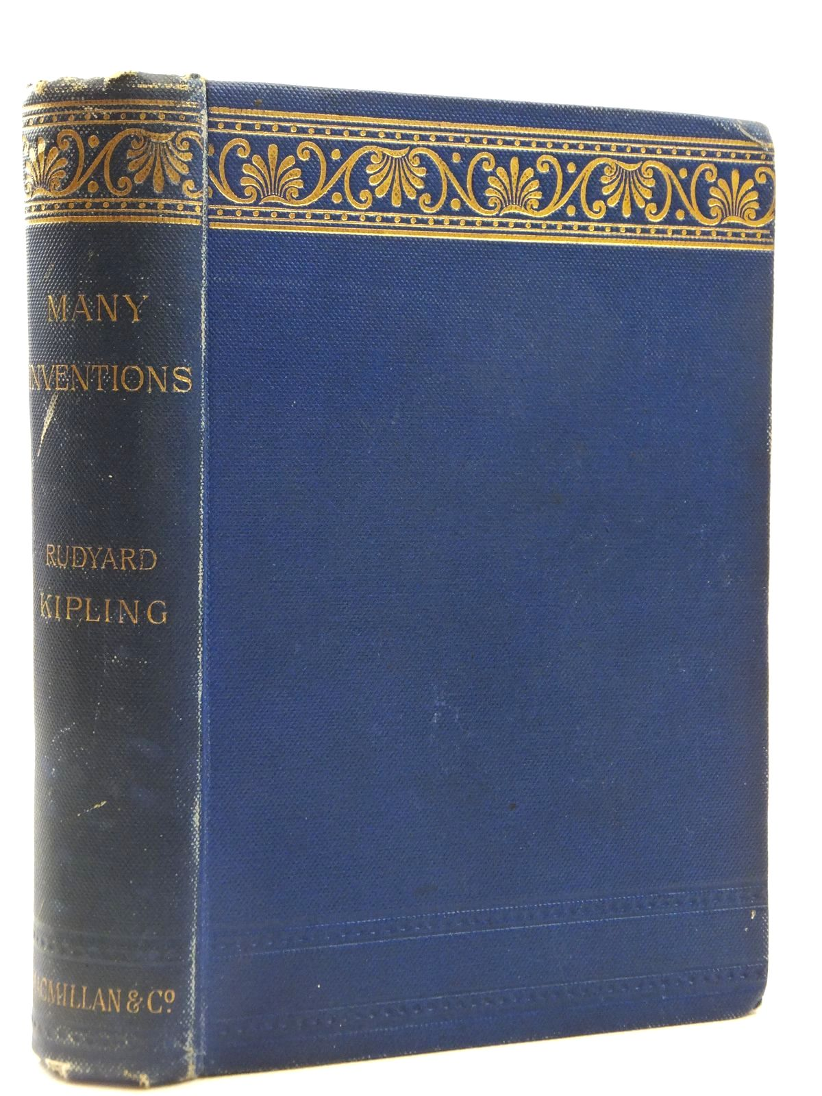Photo of MANY INVENTIONS written by Kipling, Rudyard published by Macmillan & Co. (STOCK CODE: 2122455)  for sale by Stella & Rose's Books