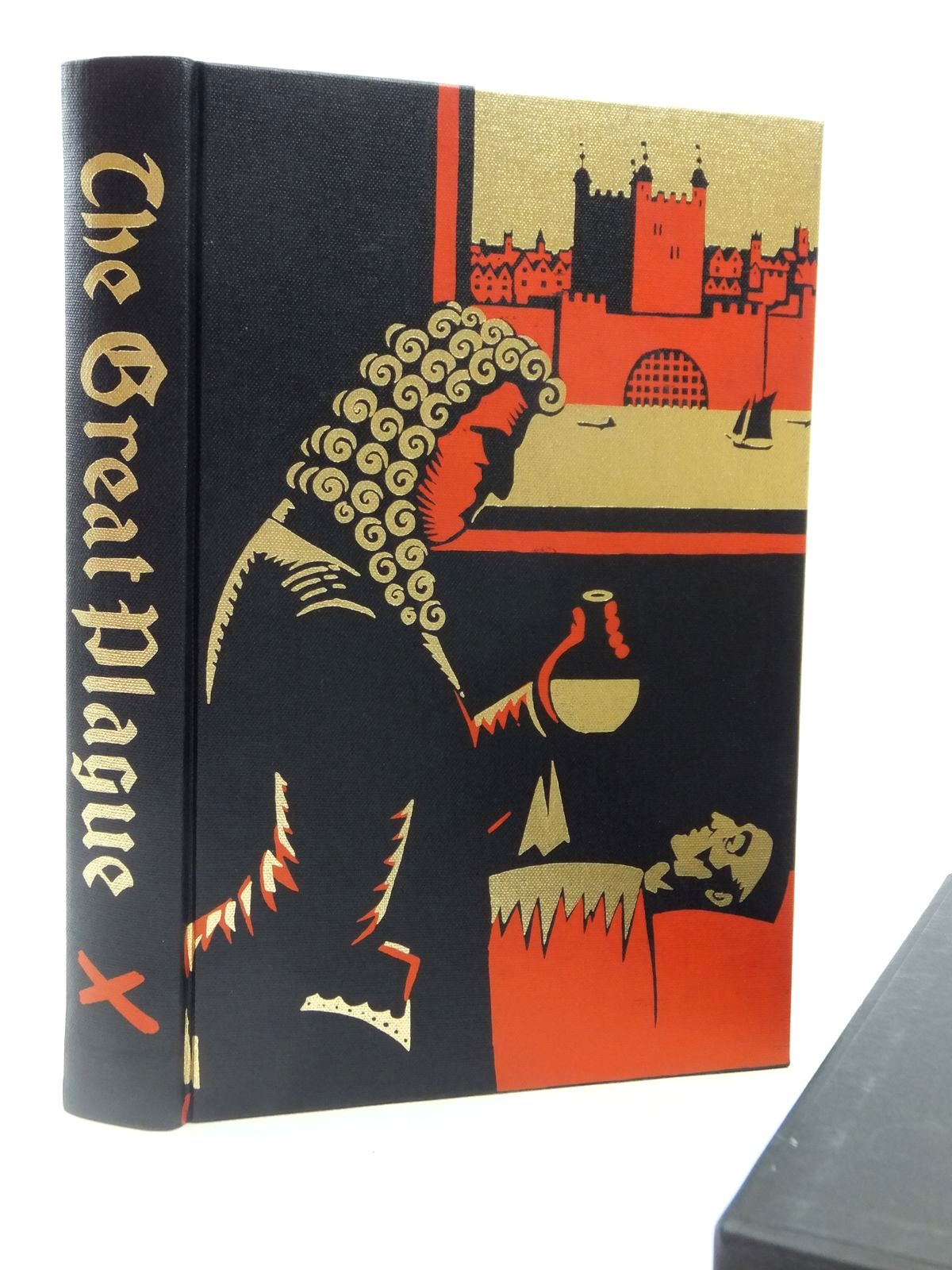 Photo of THE GREAT PLAGUE IN LONDON written by Bell, Walter George illustrated by Hollyer, Belinda published by Folio Society (STOCK CODE: 2122506)  for sale by Stella & Rose's Books