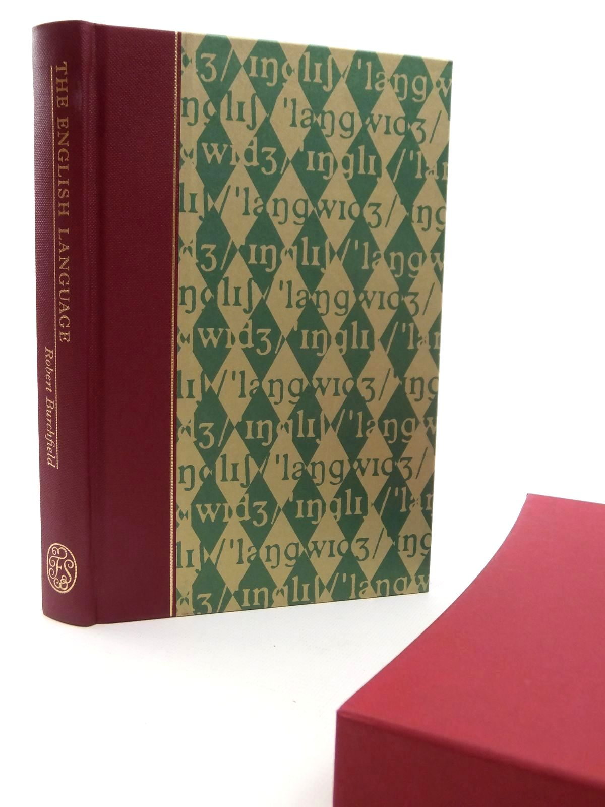 Photo of THE ENGLISH LANGUAGE written by Burchfield, Robert<br />McCrum, Robert<br />Simpson, John published by Folio Society (STOCK CODE: 2122516)  for sale by Stella & Rose's Books