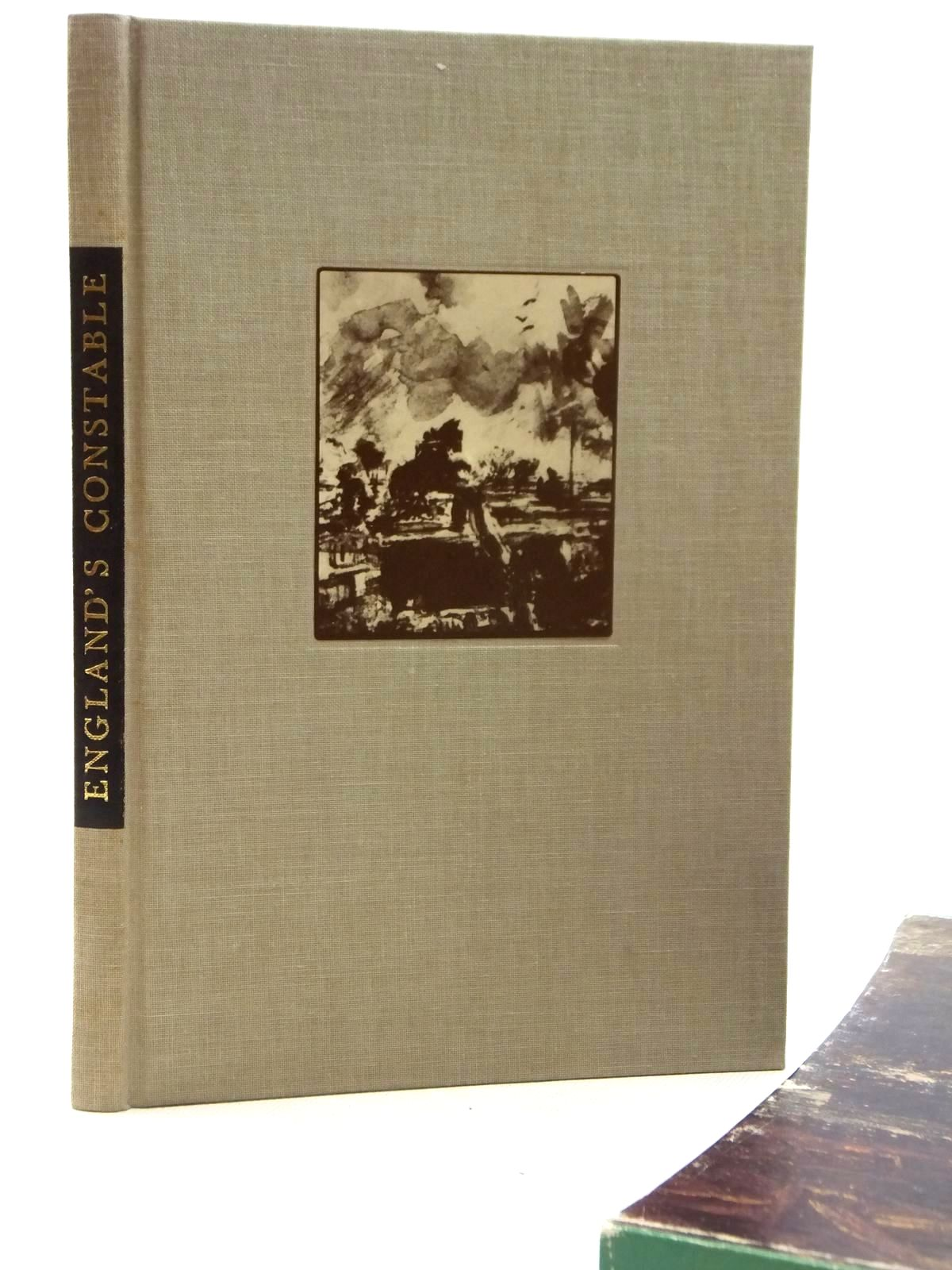 Photo of ENGLAND'S CONSTABLE written by Darracott, Joseph<br />Constable, John illustrated by Constable, John published by Folio Society (STOCK CODE: 2122522)  for sale by Stella & Rose's Books