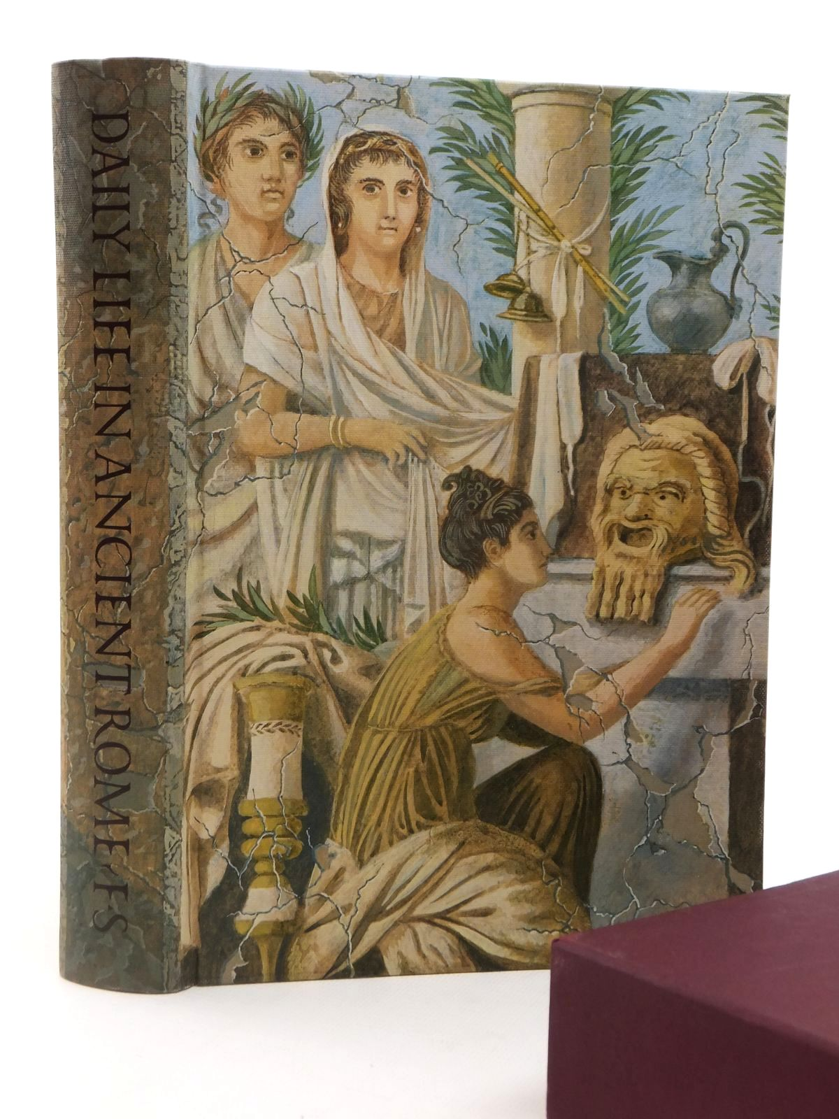 Photo of DAILY LIFE IN ANCIENT ROME written by Carcopino, Jerome<br />Rowell, Henry T.<br />Lorimer, E.O. published by Folio Society (STOCK CODE: 2122543)  for sale by Stella & Rose's Books