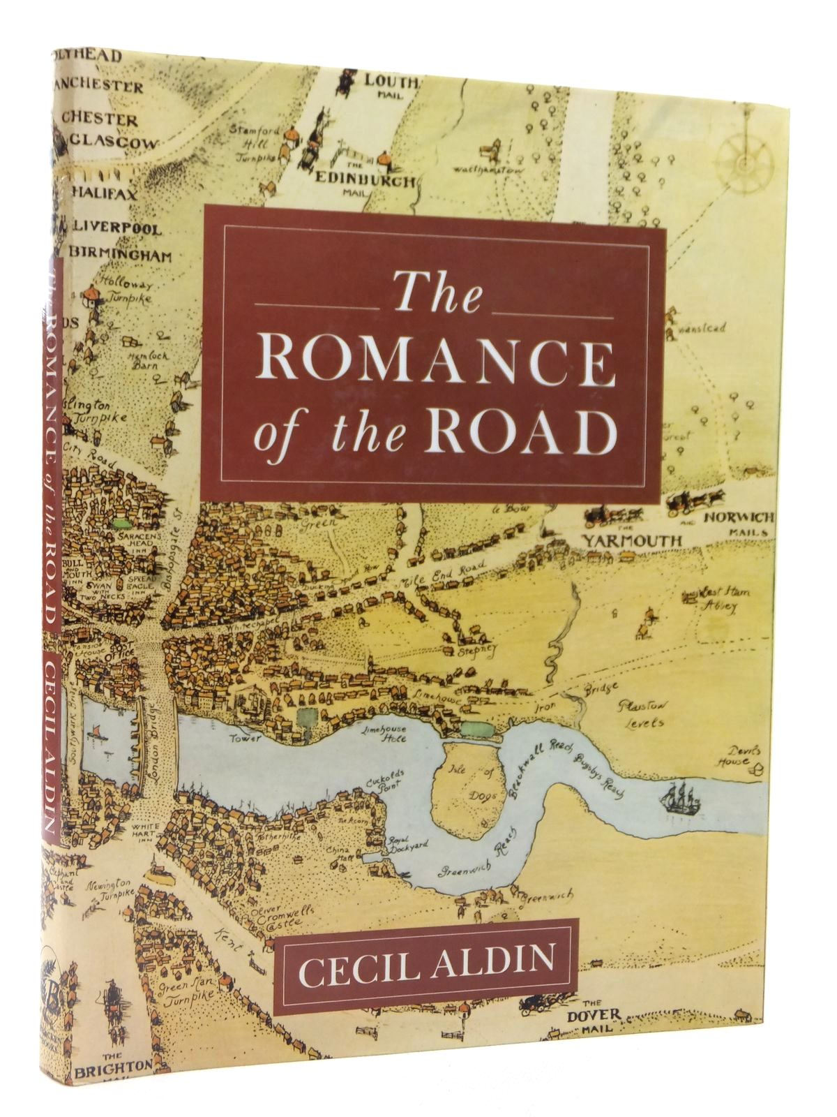 Photo of THE ROMANCE OF THE ROAD written by Aldin, Cecil illustrated by Aldin, Cecil published by Bracken Books (STOCK CODE: 2122567)  for sale by Stella & Rose's Books