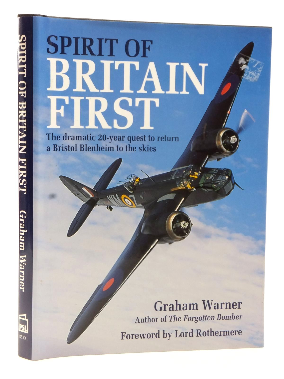 Photo of SPIRIT OF BRITAIN FIRST written by Warner, Graham published by Patrick Stephens Limited (STOCK CODE: 2122600)  for sale by Stella & Rose's Books