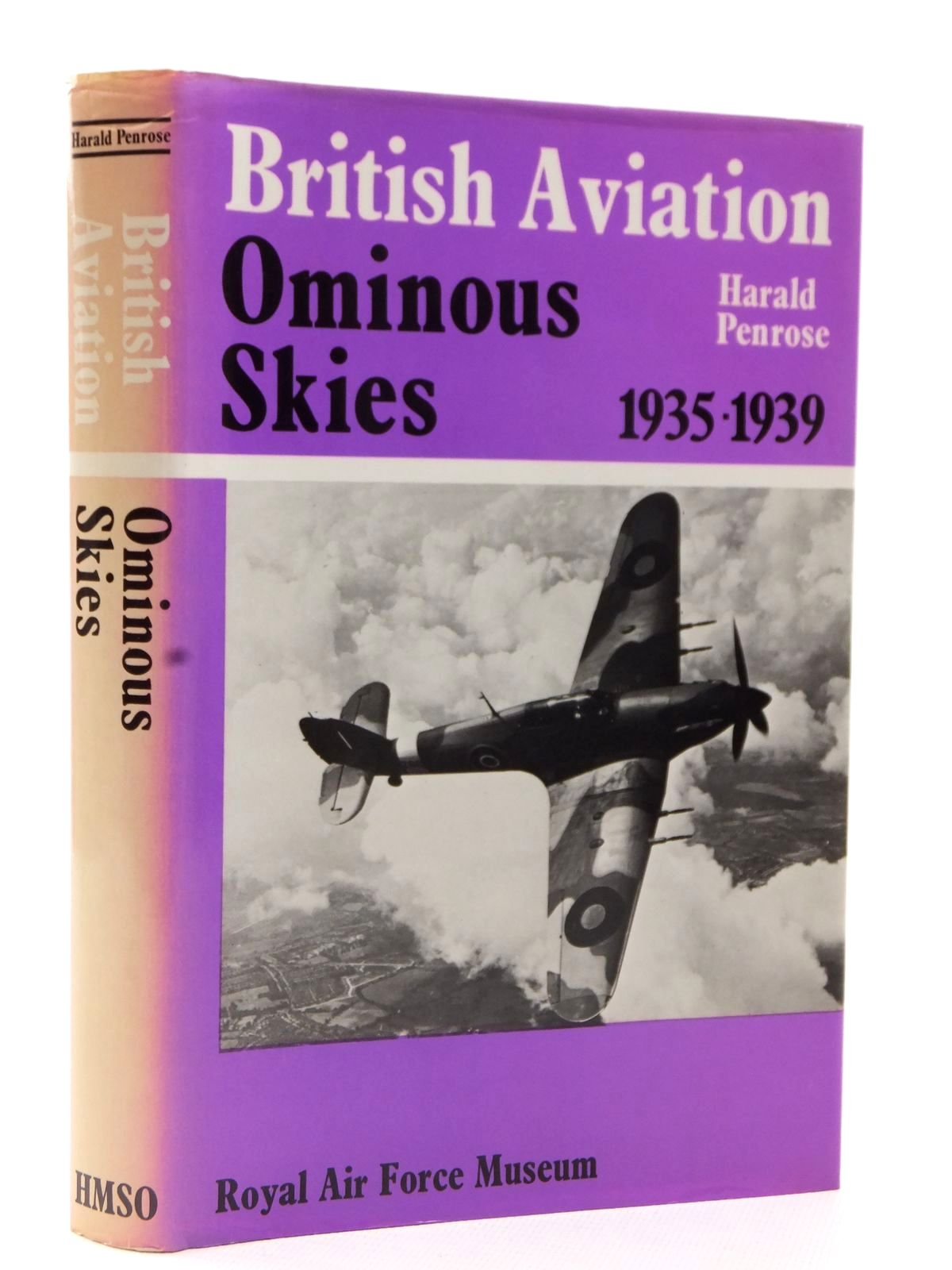 Photo of BRITISH AVIATION THE OMINOUS SKIES 1935-1939 written by Penrose, Harald published by Her Majesty's Stationery Office (STOCK CODE: 2122603)  for sale by Stella & Rose's Books