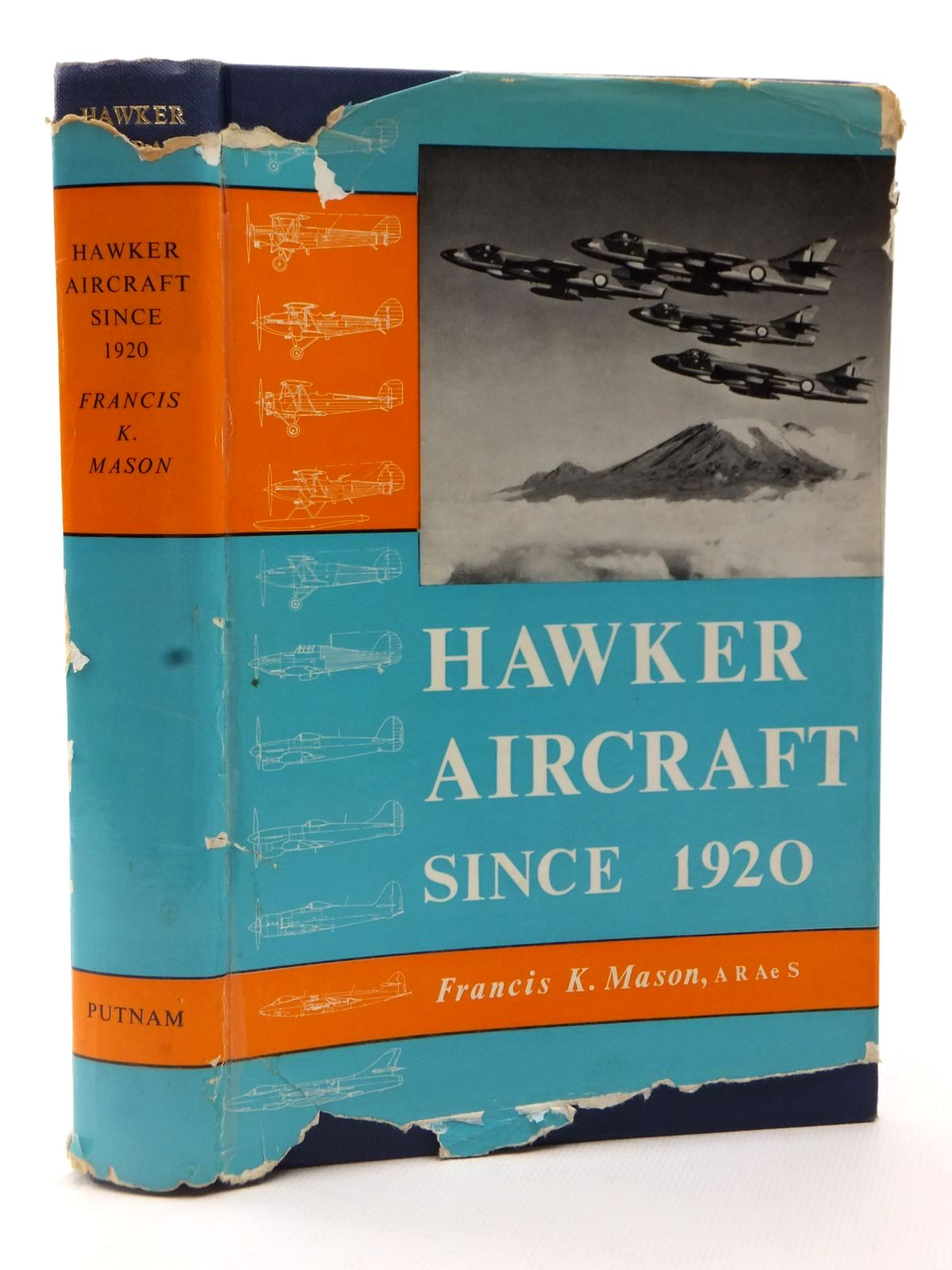 Photo of HAWKER AIRCRAFT SINCE 1920 written by Mason, Francis K. published by Putnam (STOCK CODE: 2122608)  for sale by Stella & Rose's Books
