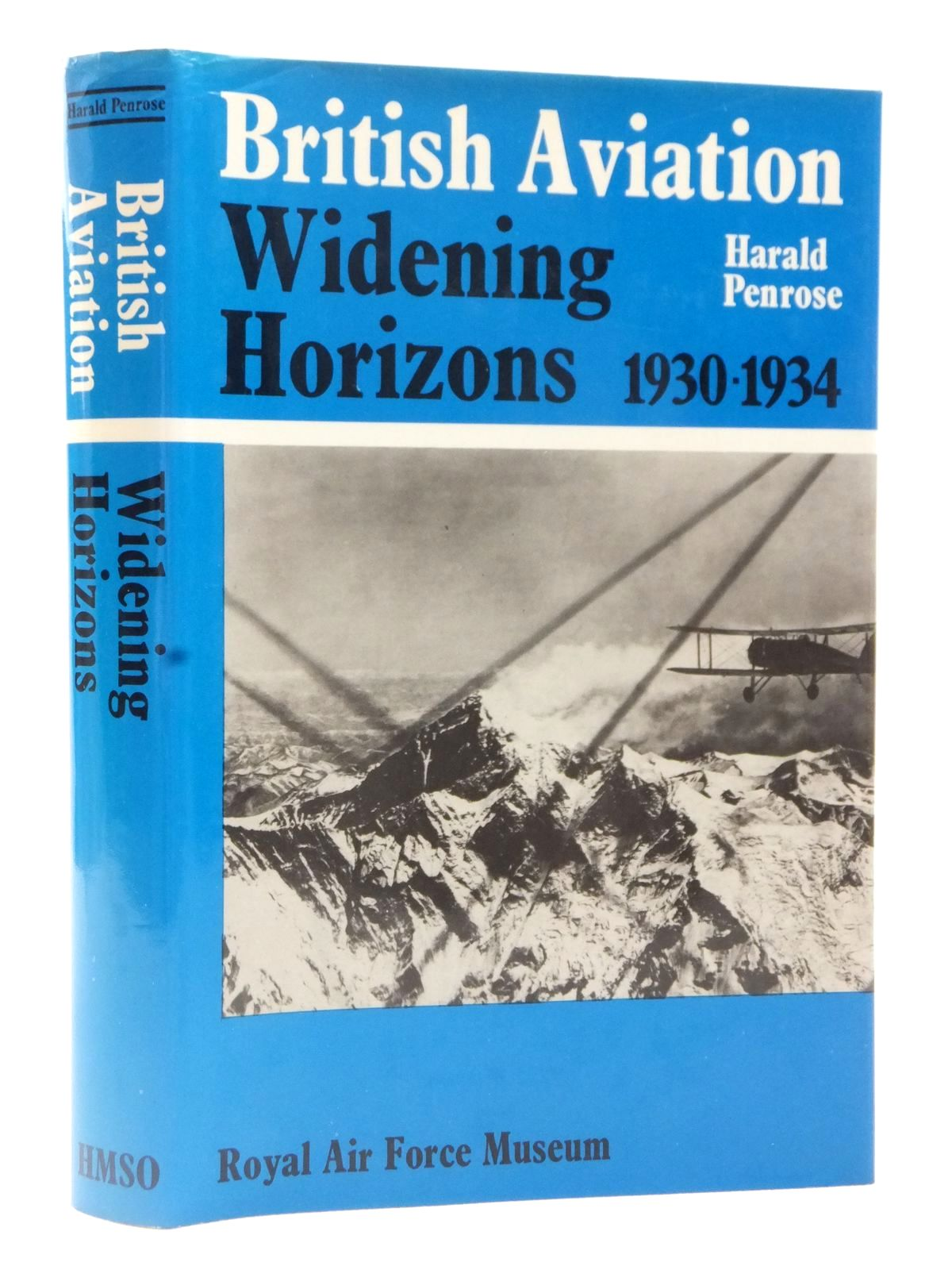 Photo of BRITISH AVIATION WIDENING HORIZONS 1930-1934 written by Penrose, Harald published by HMSO (STOCK CODE: 2122610)  for sale by Stella & Rose's Books