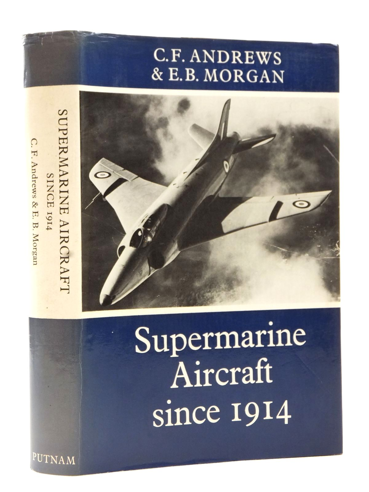 Photo of SUPERMARINE AIRCRAFT SINCE 1914 written by Andrews, C.F.<br />Morgan, E.B. published by Putnam (STOCK CODE: 2122612)  for sale by Stella & Rose's Books