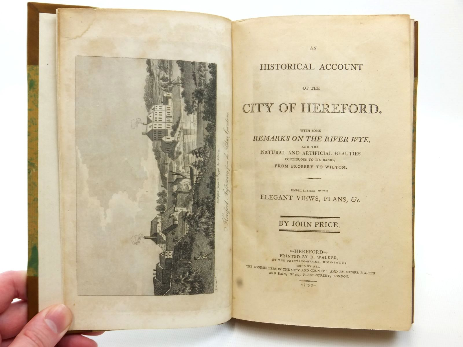 Photo of AN HISTORICAL ACCOUNT OF THE CITY OF HEREFORD written by Price, John (STOCK CODE: 2122666)  for sale by Stella & Rose's Books