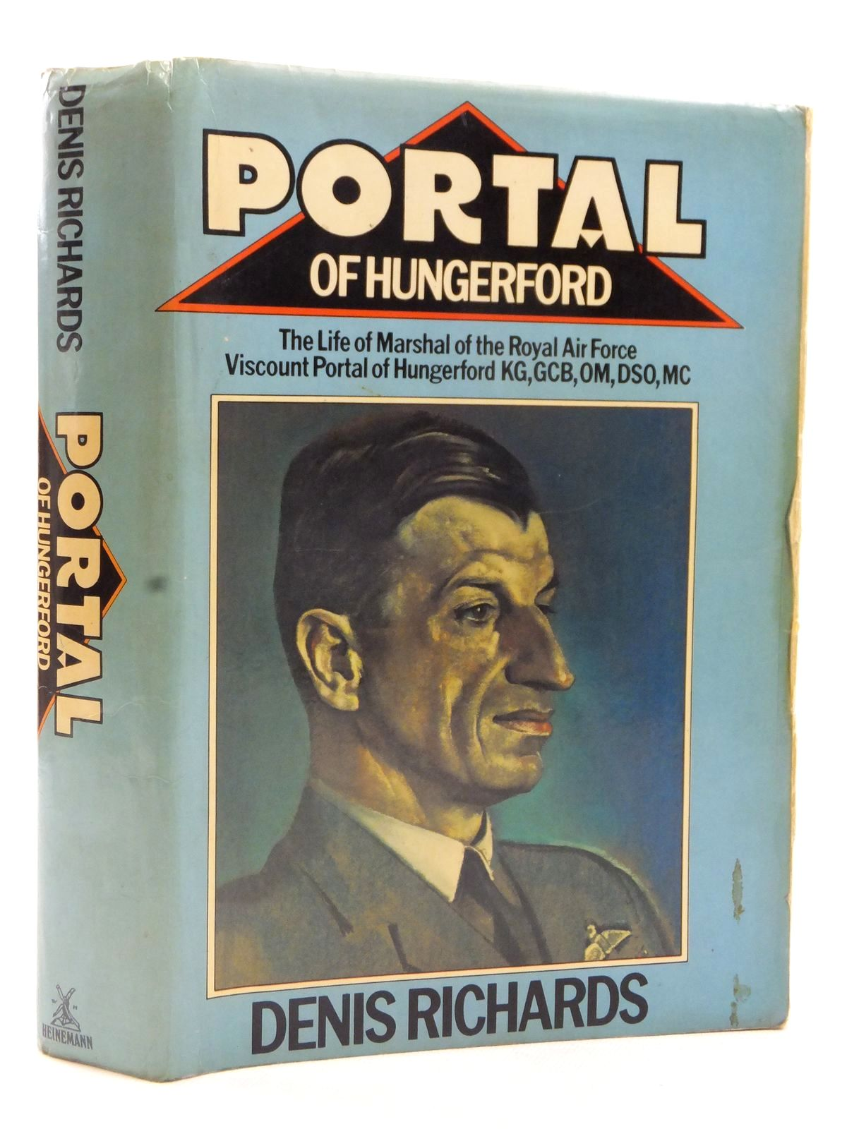 Photo of PORTAL OF HUNGERFORD written by Richards, Denis published by Heinemann (STOCK CODE: 2122711)  for sale by Stella & Rose's Books