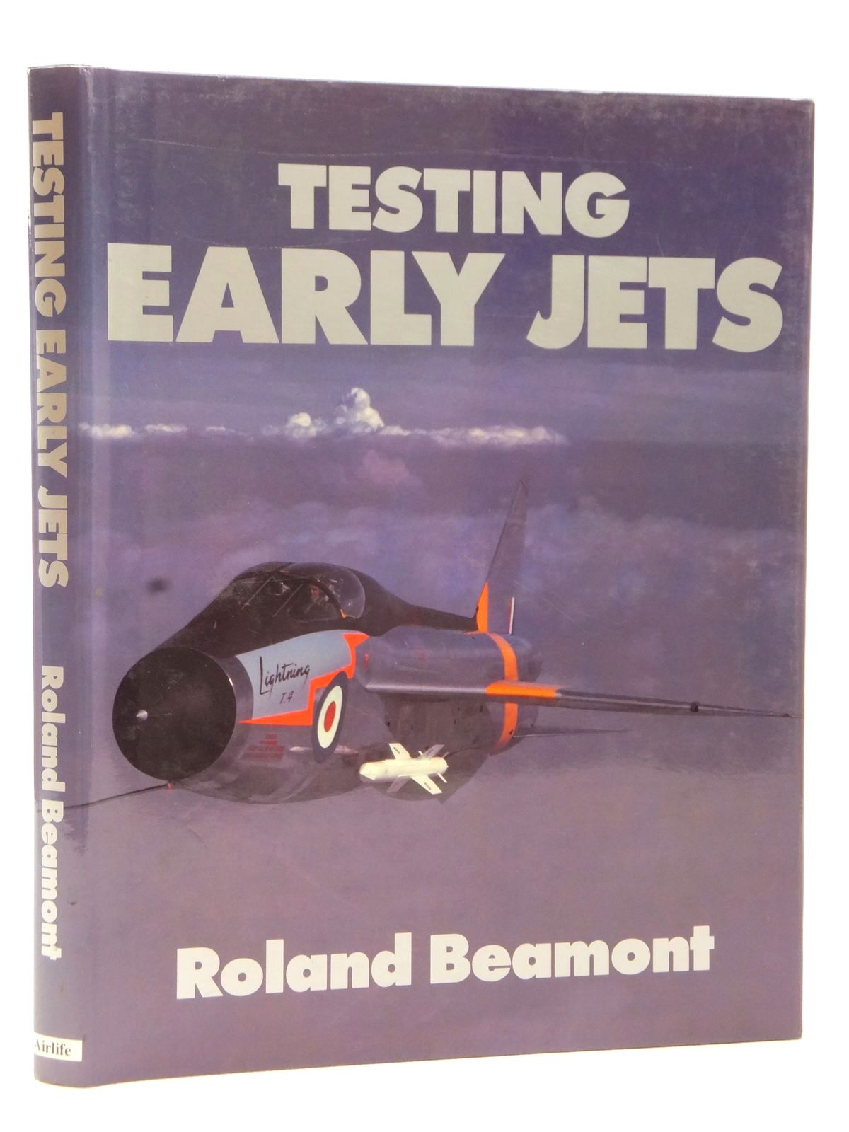 Photo of TESTING EARLY JETS written by Beaumont, Roland published by Airlife (STOCK CODE: 2122736)  for sale by Stella & Rose's Books