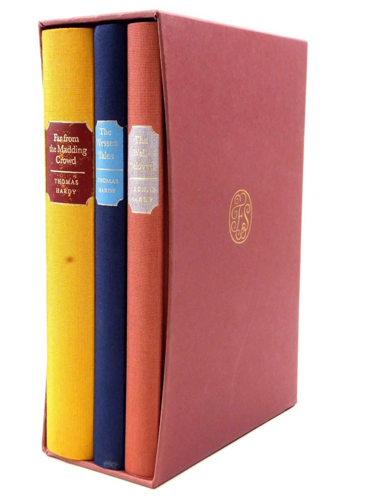 Photo of FAR FROM THE MADDING CROWD - THE WESSEX TALES - THE WELL-BELOVED (3 VOLUMES) written by Hardy, Thomas illustrated by Reddick, Peter published by Folio Society (STOCK CODE: 2122744)  for sale by Stella & Rose's Books