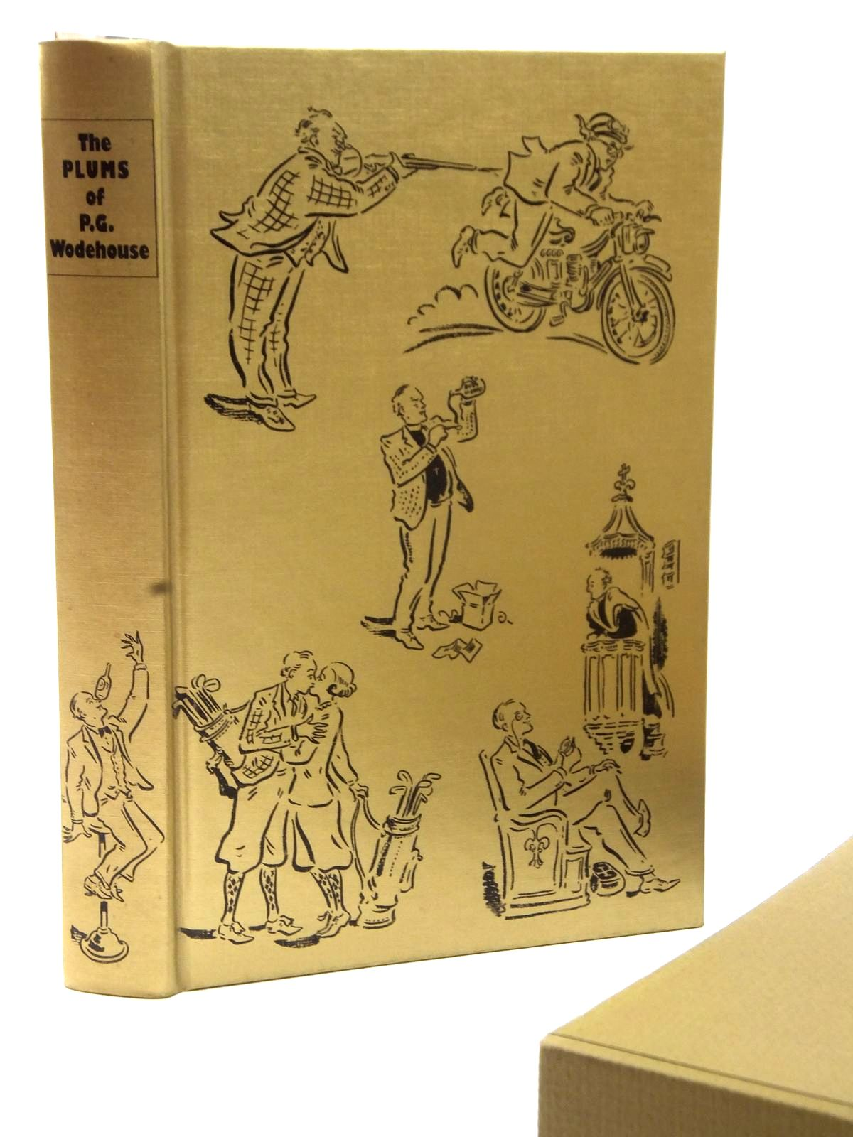 Photo of THE PLUMS OF P.G. WODEHOUSE written by Wodehouse, P.G. illustrated by Cox, Paul published by Folio Society (STOCK CODE: 2122745)  for sale by Stella & Rose's Books