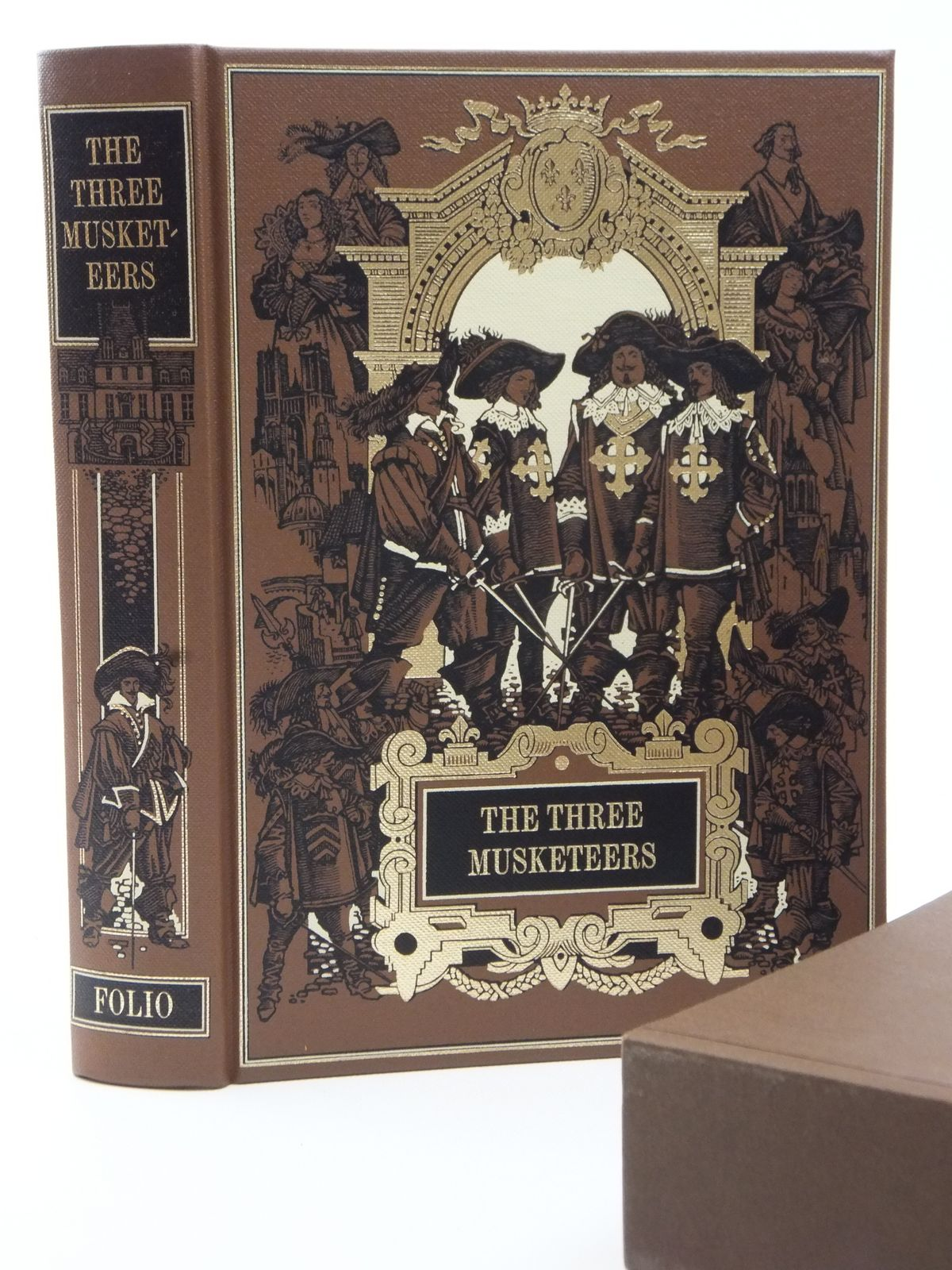 Photo of THE THREE MUSKETEERS written by Dumas, Alexandre<br />Fraser, George Macdonald illustrated by Pisarev, Roman published by Folio Society (STOCK CODE: 2122766)  for sale by Stella & Rose's Books