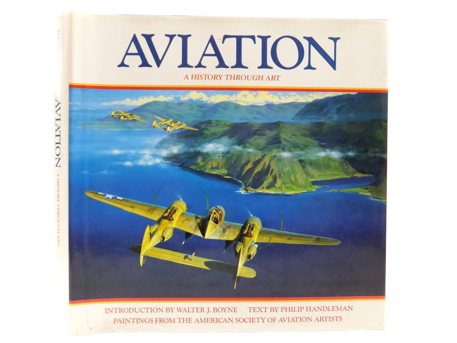 Photo of AVIATION A HISTORY THROUGH ART written by Handleman, Philip<br />Boyne, Walter J. illustrated by Dietz, James<br />Ferris, Keith<br />Phillips, William<br />et al., published by BCA (STOCK CODE: 2122791)  for sale by Stella & Rose's Books