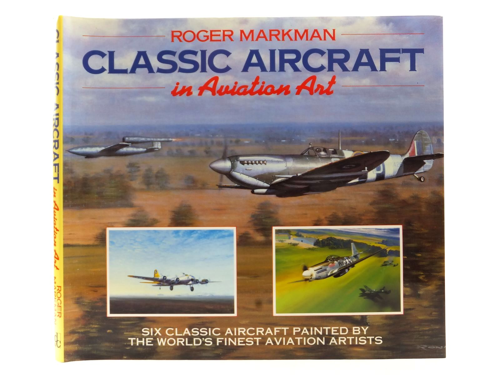Photo of CLASSIC AIRCRAFT IN AVIATION ART written by Markman, Roger published by David & Charles (STOCK CODE: 2122794)  for sale by Stella & Rose's Books