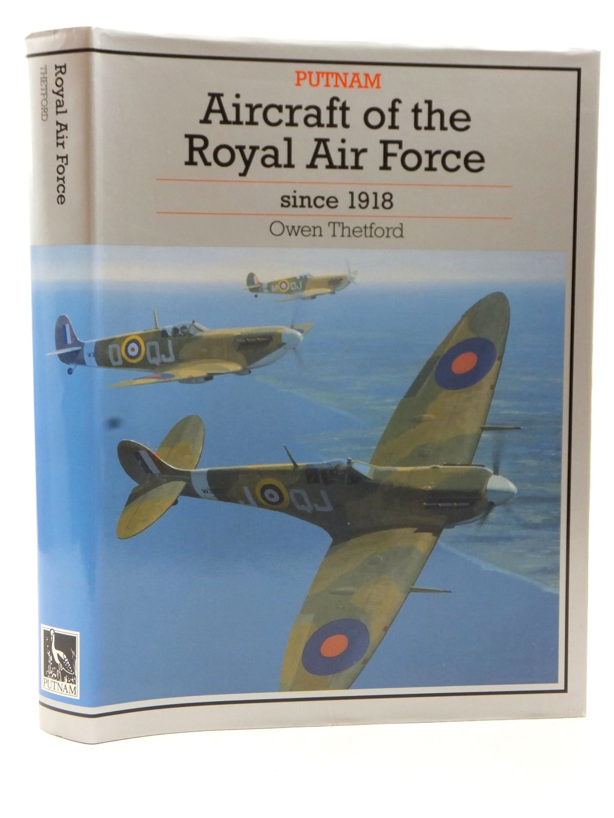 Photo of AIRCRAFT OF THE ROYAL AIR FORCE SINCE 1918 written by Thetford, Owen G. published by Putnam (STOCK CODE: 2122859)  for sale by Stella & Rose's Books