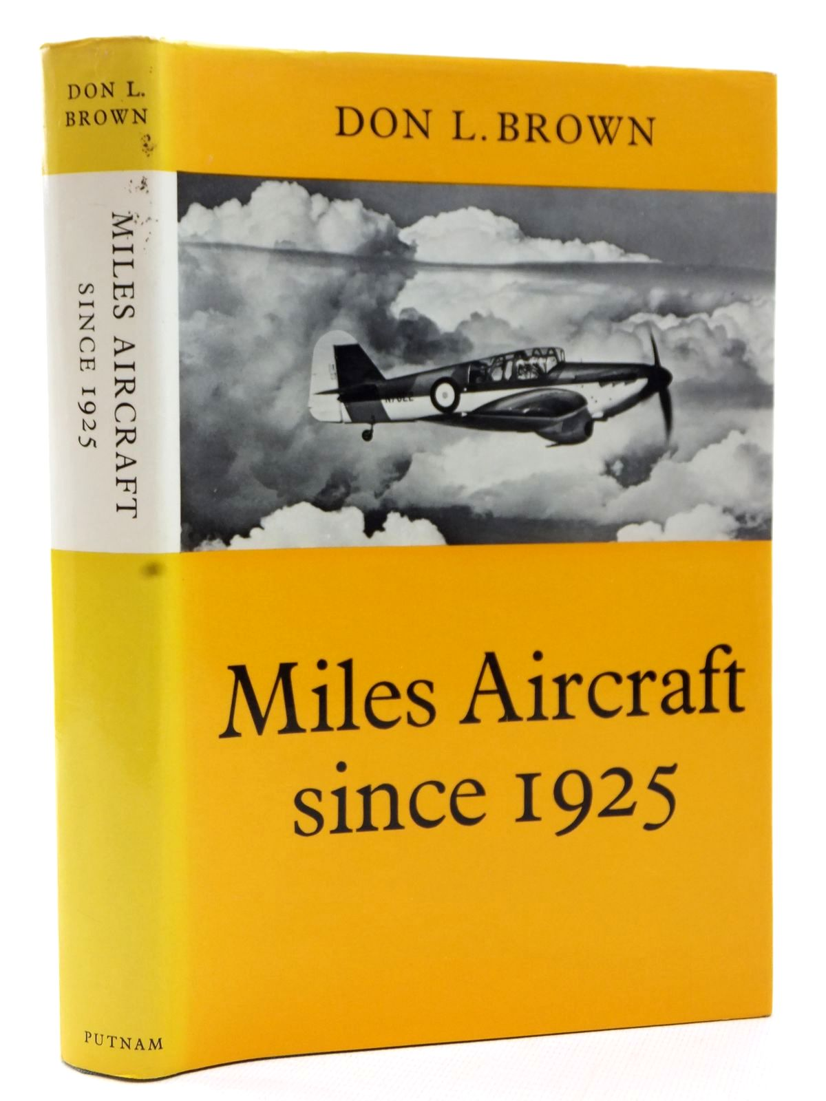 Photo of MILES AIRCRAFT SINCE 1925 written by Brown, Don. L. published by Putnam & Company (STOCK CODE: 2122868)  for sale by Stella & Rose's Books