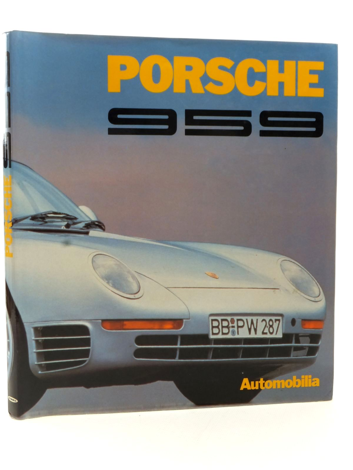 Photo of PORSCHE 959 written by Pasini, Stefano published by Automobilia (STOCK CODE: 2122872)  for sale by Stella & Rose's Books