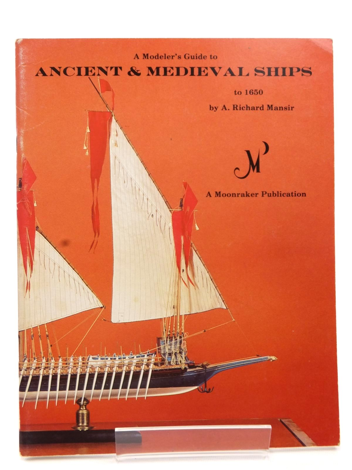 Photo of A MODELER'S GUIDE TO ANCIENT & MEDIEVAL SHIPS TO 1650 written by Mansir, A. Richard published by Airlife (STOCK CODE: 2122905)  for sale by Stella & Rose's Books