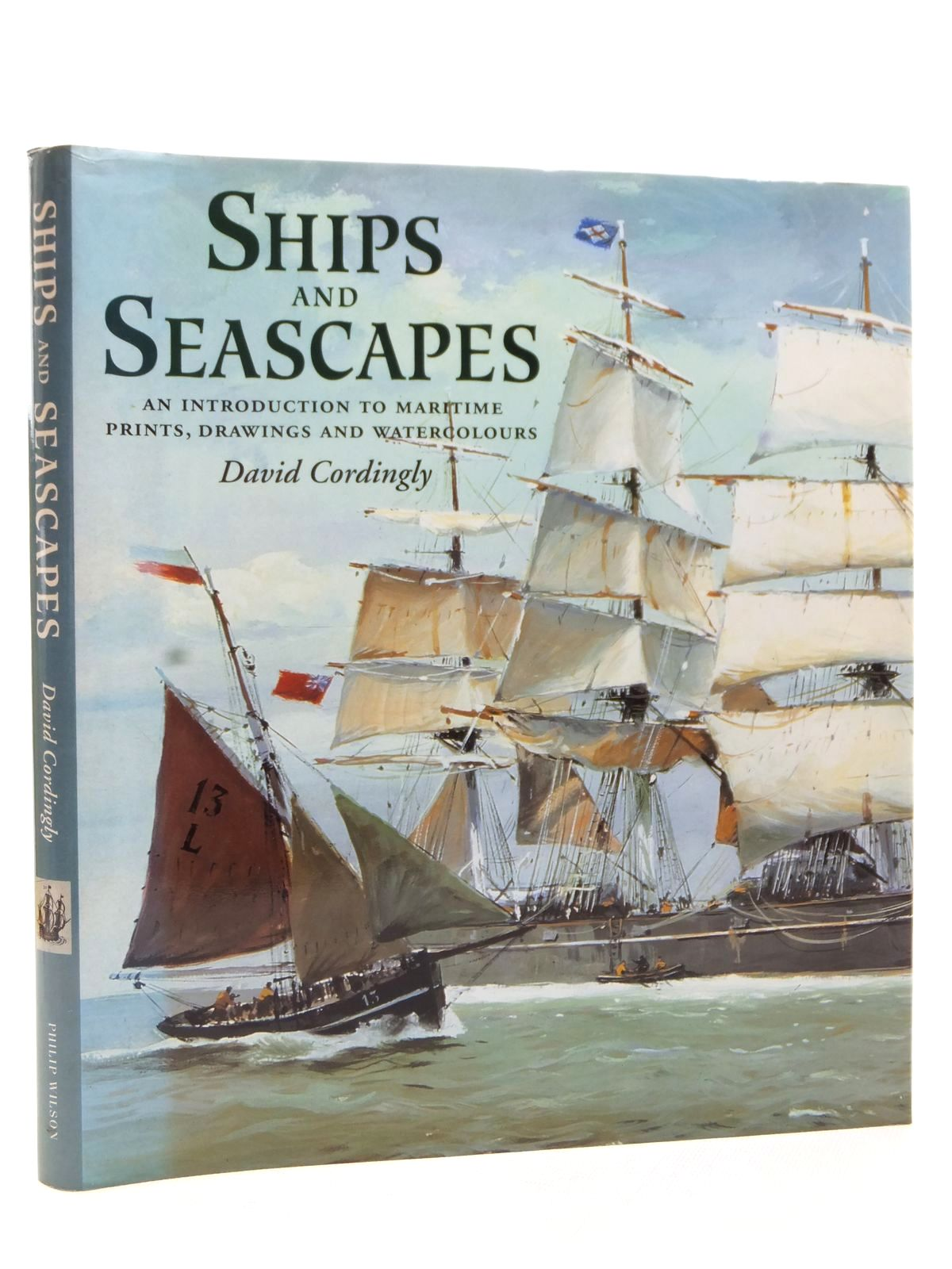 Photo of SHIPS AND SEASCAPES written by Cordingly, David published by Philip Wilson (STOCK CODE: 2122934)  for sale by Stella & Rose's Books