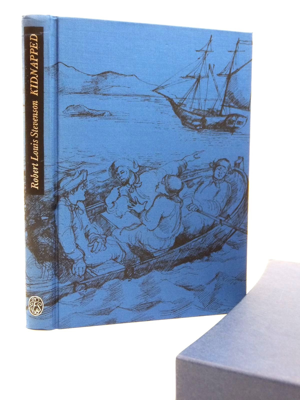 Photo of KIDNAPPED written by Stevenson, Robert Louis illustrated by Newnham, Annie published by Folio Society (STOCK CODE: 2122939)  for sale by Stella & Rose's Books