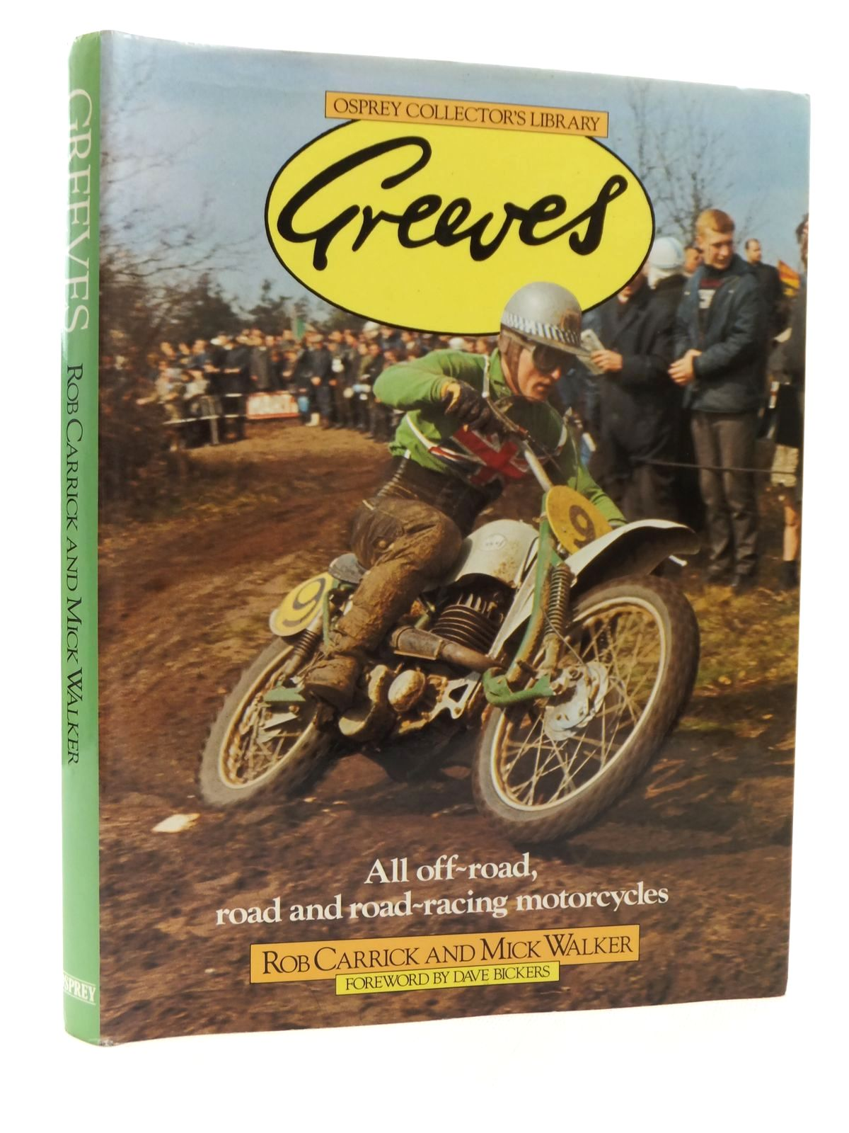 Photo of GREEVES written by Carrick, Rob<br />Walker, Mick published by Osprey Publishing (STOCK CODE: 2122965)  for sale by Stella & Rose's Books