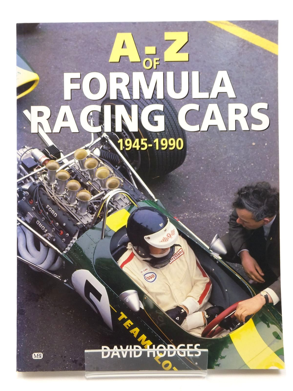 Photo of A-Z OF FORMULA RACING CARS 1945-1990 written by Hodges, David published by Bay View Books (STOCK CODE: 2122983)  for sale by Stella & Rose's Books
