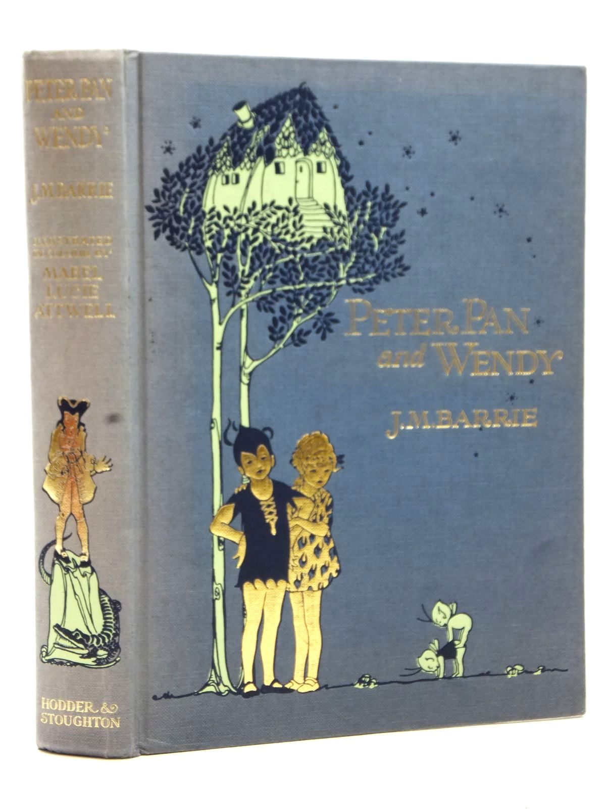Photo of PETER PAN AND WENDY written by Barrie, J.M. illustrated by Attwell, Mabel Lucie published by Hodder & Stoughton (STOCK CODE: 2123018)  for sale by Stella & Rose's Books