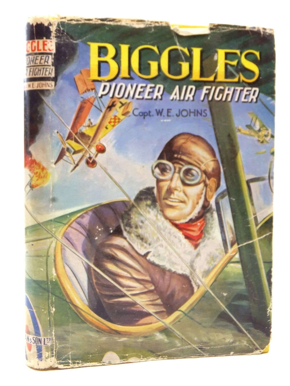 Photo of BIGGLES PIONEER AIR FIGHTER written by Johns, W.E. published by Dean & Son Ltd. (STOCK CODE: 2123037)  for sale by Stella & Rose's Books
