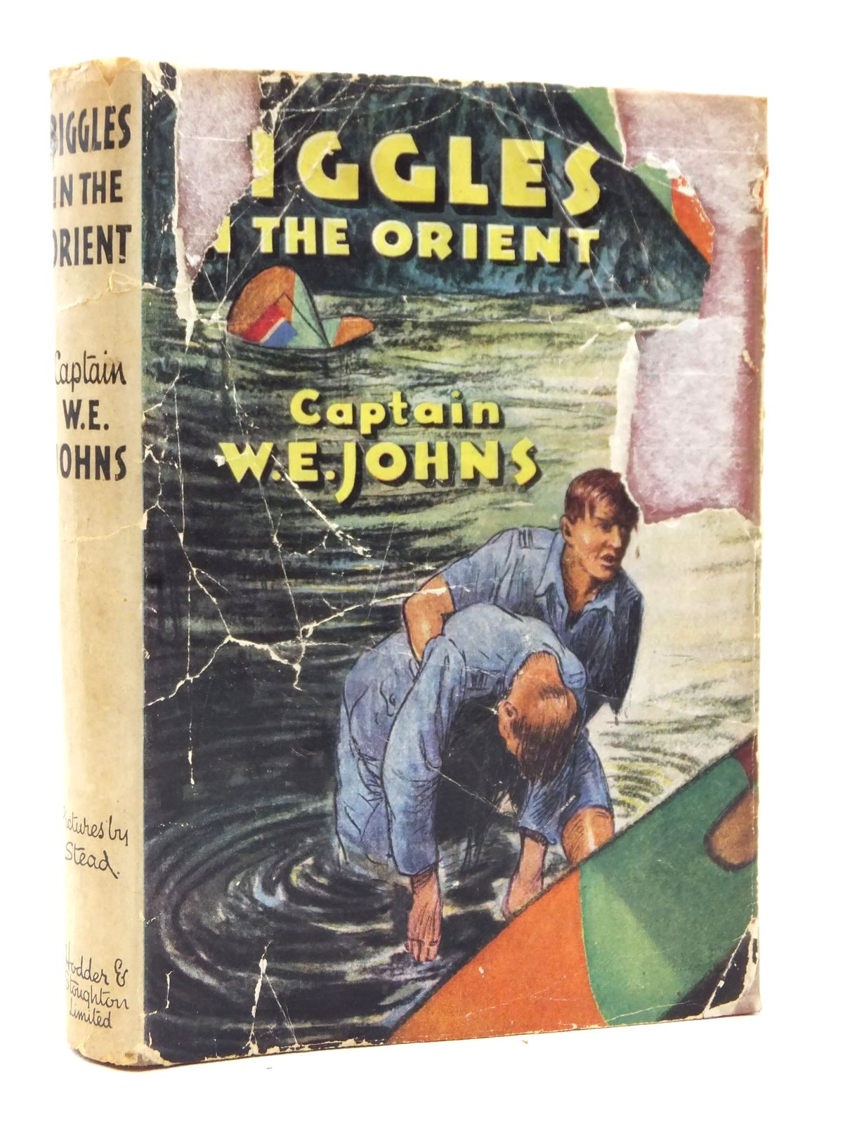 Photo of BIGGLES IN THE ORIENT written by Johns, W.E. illustrated by Stead,  published by Hodder & Stoughton (STOCK CODE: 2123040)  for sale by Stella & Rose's Books
