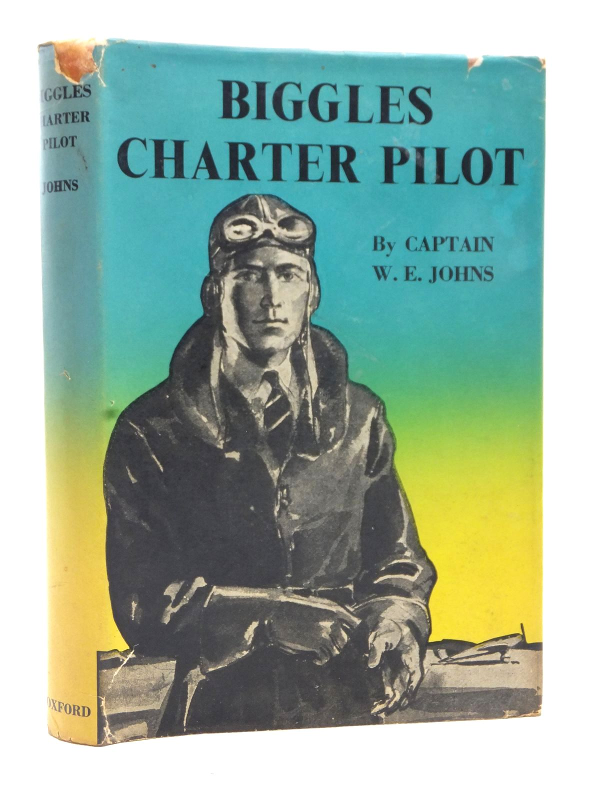 Photo of BIGGLES CHARTER PILOT written by Johns, W.E. illustrated by Mendoza,  published by Geoffrey Cumberlege, Oxford University Press (STOCK CODE: 2123042)  for sale by Stella & Rose's Books