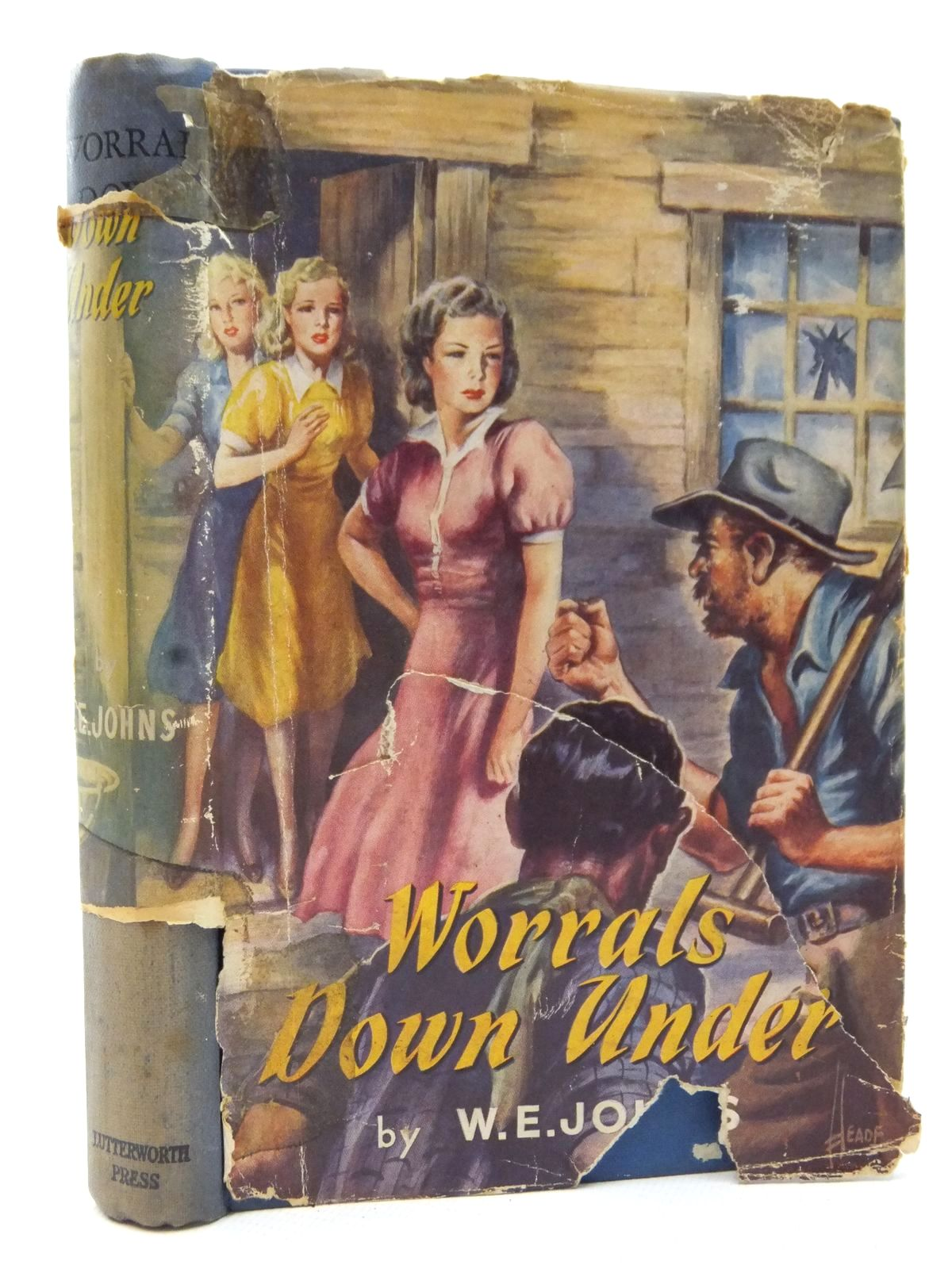 Photo of WORRALS DOWN UNDER written by Johns, W.E. published by Lutterworth Press (STOCK CODE: 2123049)  for sale by Stella & Rose's Books