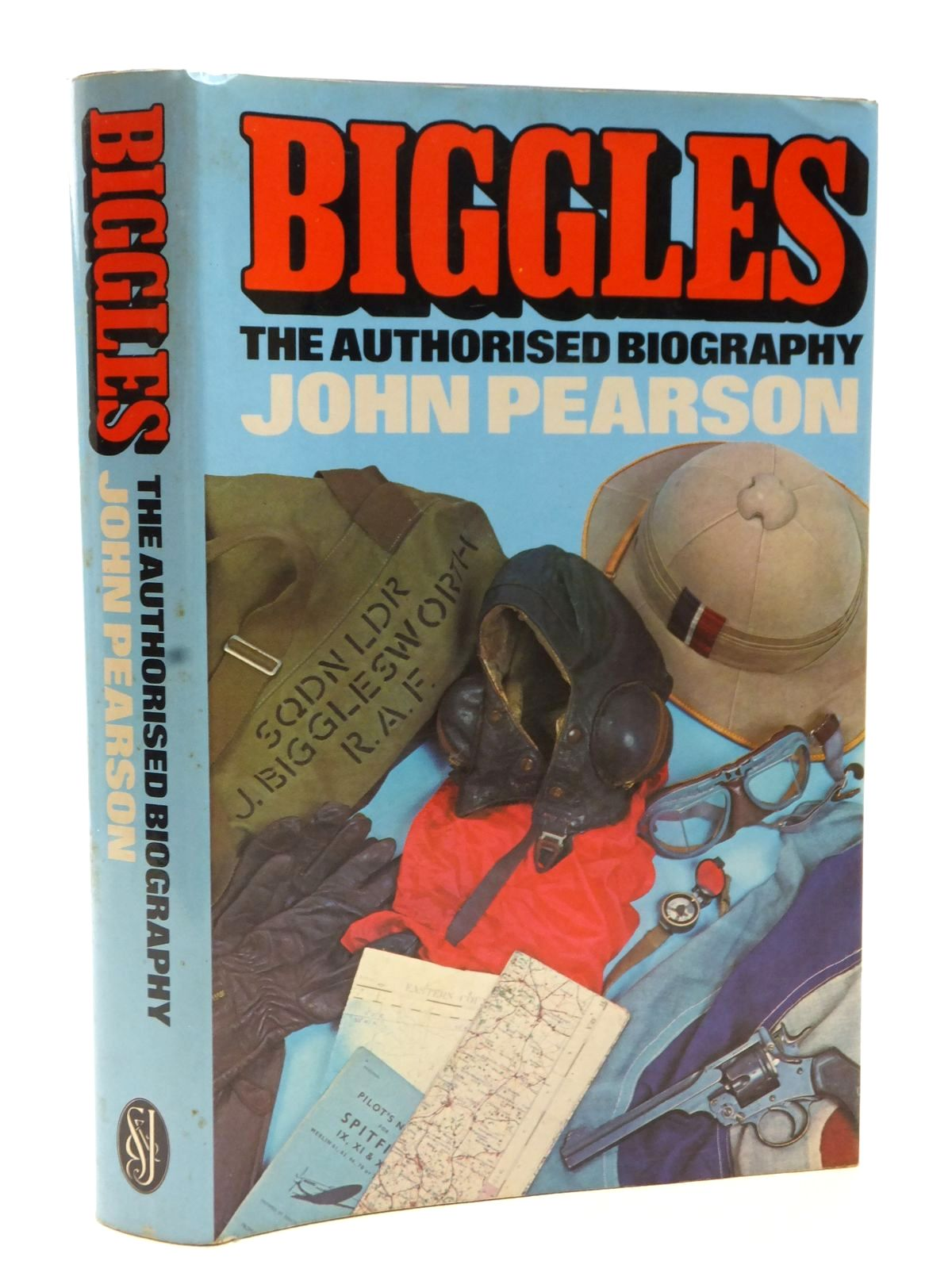Photo of BIGGLES THE AUTHORISED BIOGRAPHY written by Pearson, John published by Sidgwick & Jackson (STOCK CODE: 2123080)  for sale by Stella & Rose's Books