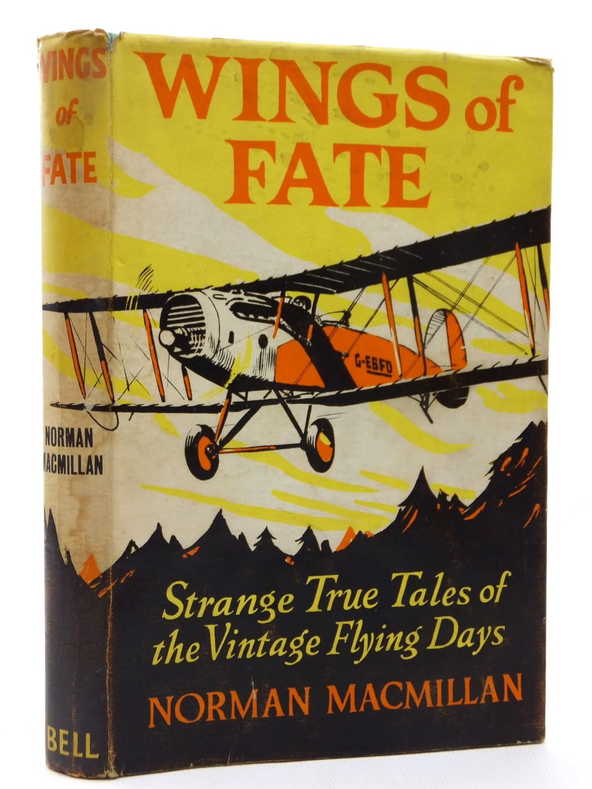 Photo of WINGS OF FATE written by MacMillan, Norman published by G. Bell & Sons Ltd. (STOCK CODE: 2123105)  for sale by Stella & Rose's Books