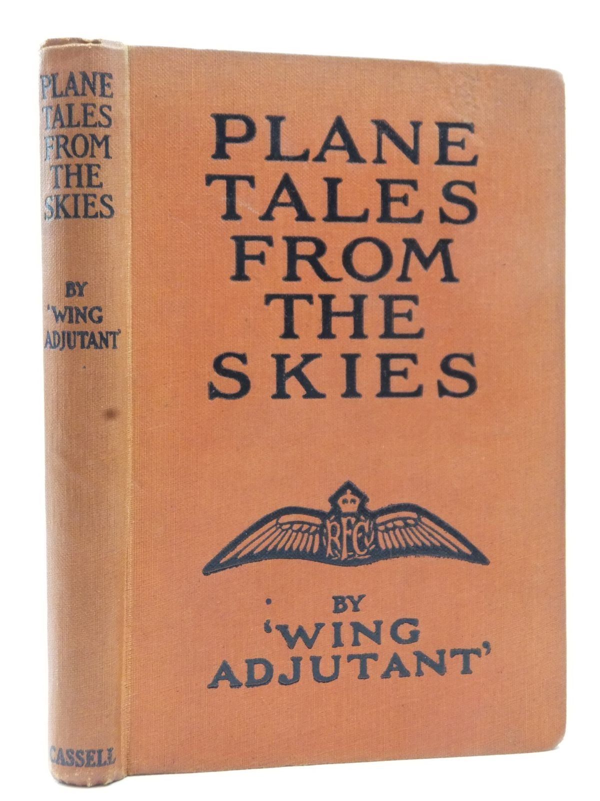 Photo of PLANE TALES FROM THE SKIES written by Wing Adjutant,  published by Cassell & Company Ltd (STOCK CODE: 2123126)  for sale by Stella & Rose's Books