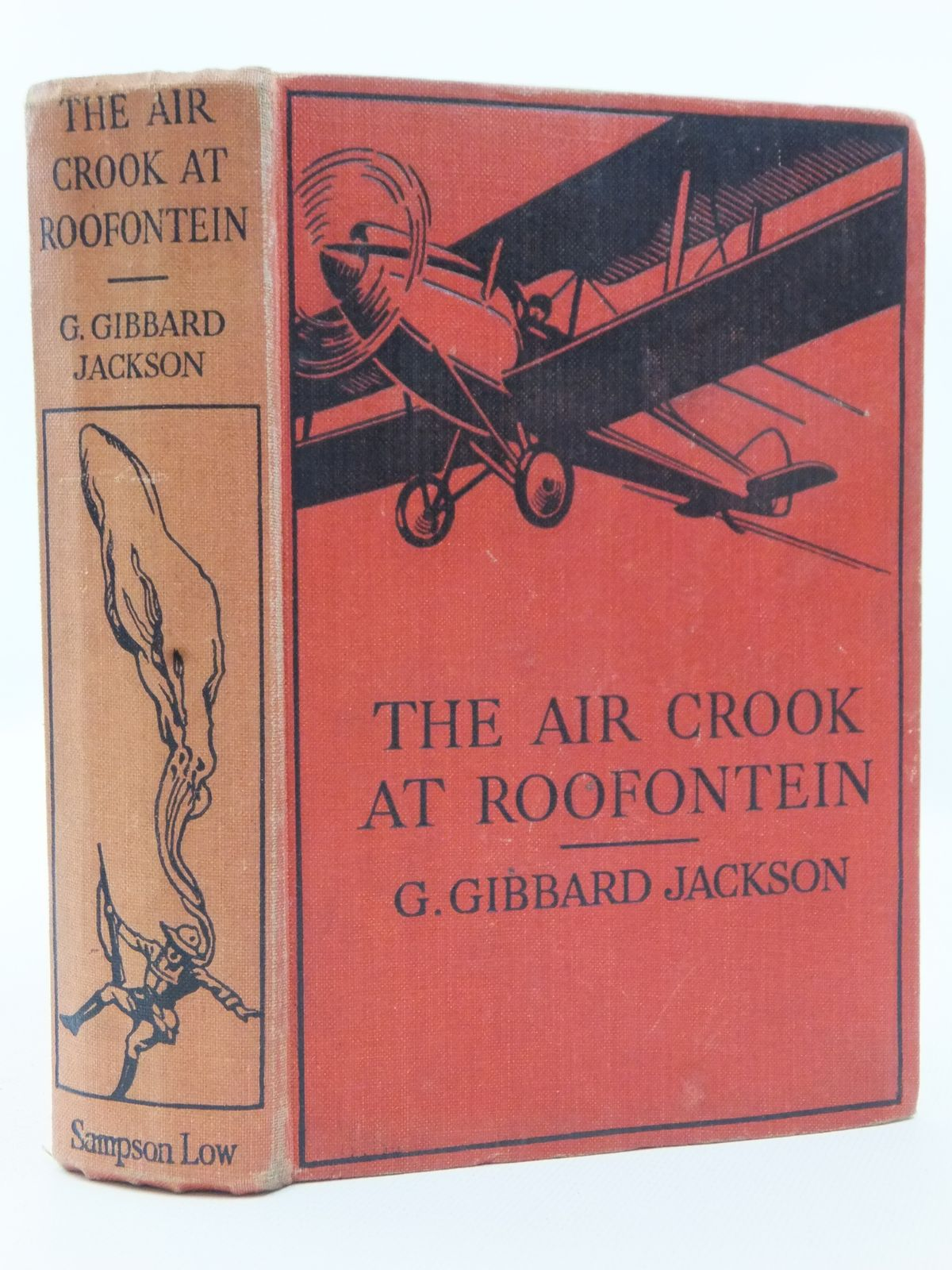 Photo of THE AIR CROOK AT ROOFONTEIN written by Jackson, G. Gibbard published by Sampson Low, Marston & Co. Ltd. (STOCK CODE: 2123130)  for sale by Stella & Rose's Books