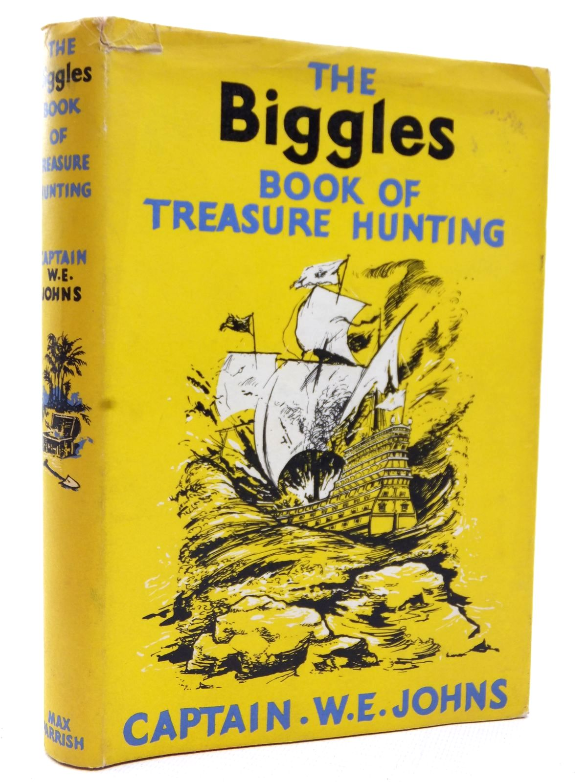 Photo of THE BIGGLES BOOK OF TREASURE HUNTING written by Johns, W.E. illustrated by Randell, William published by Max Parrish (STOCK CODE: 2123169)  for sale by Stella & Rose's Books