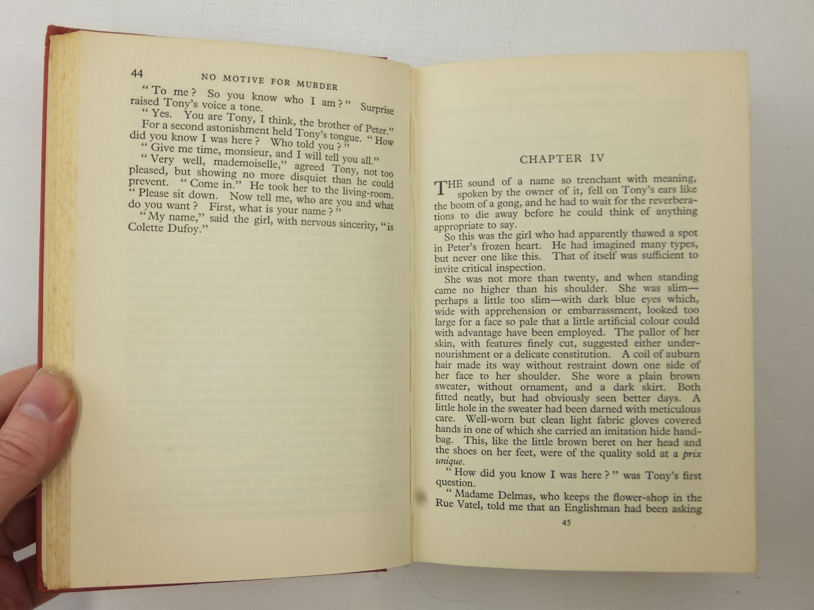 Photo of NO MOTIVE FOR MURDER written by Johns, W.E. published by Hodder & Stoughton (STOCK CODE: 2123172)  for sale by Stella & Rose's Books