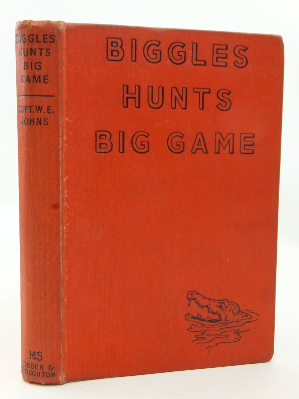 Photo of BIGGLES HUNTS BIG GAME written by Johns, W.E. illustrated by Stead,  published by Hodder & Stoughton (STOCK CODE: 2123181)  for sale by Stella & Rose's Books