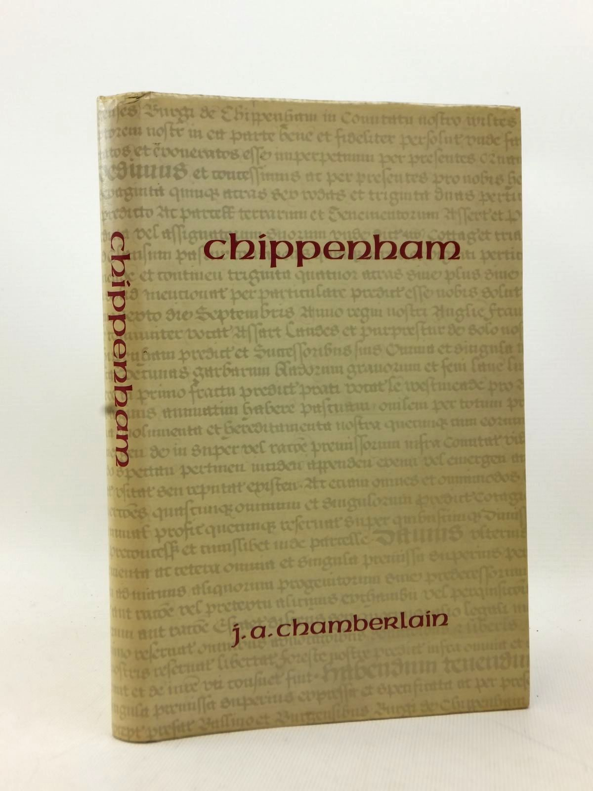 Photo of CHIPPENHAM SOME NOTES ON ITS HISTORY written by Chamberlain, Joseph A. published by Chippenham Charter Trustees (STOCK CODE: 2123215)  for sale by Stella & Rose's Books