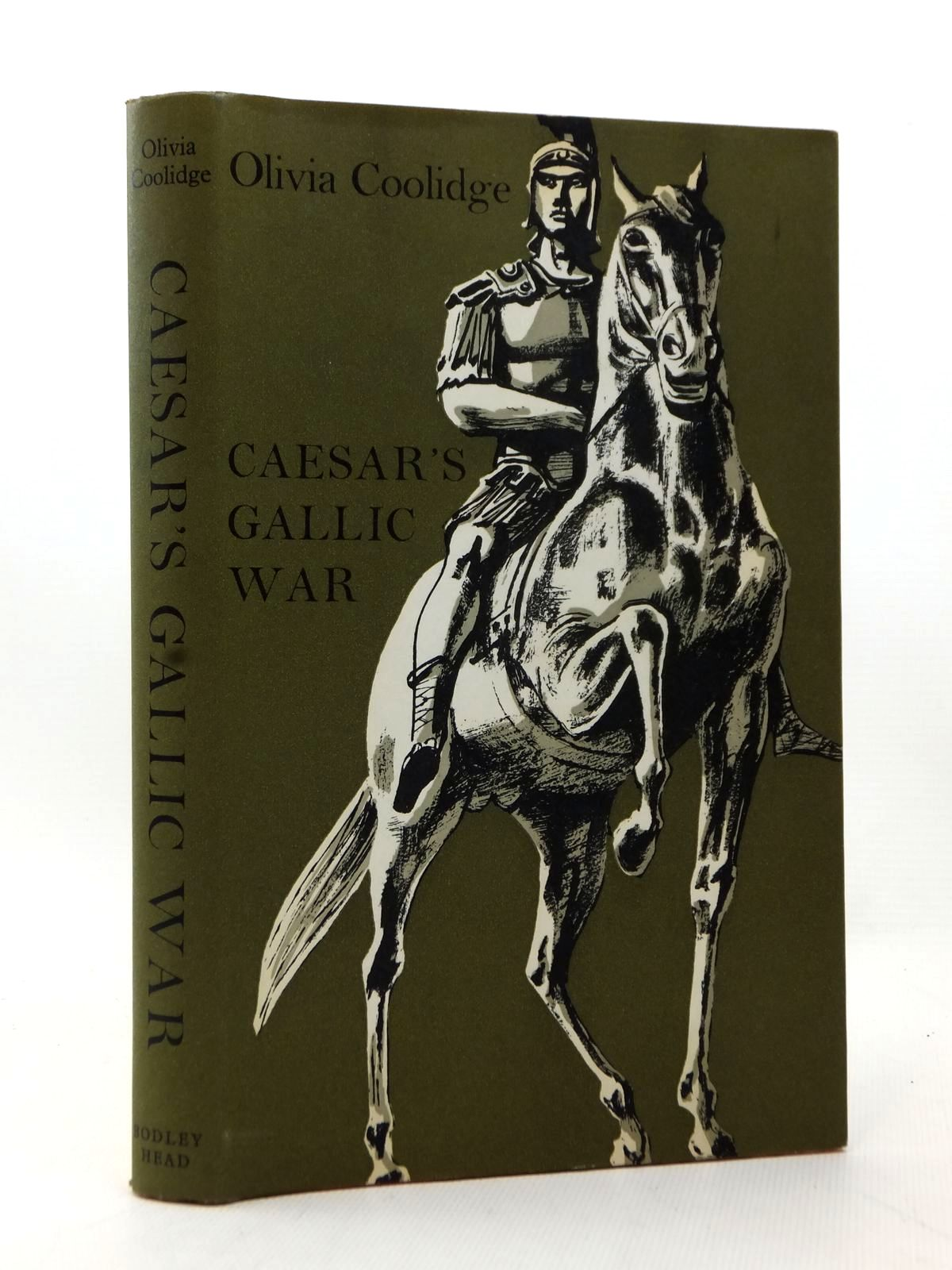 Photo of CAESAR'S GALLIC WAR written by Cooling, Olivia illustrated by Stobbs, William published by The Bodley Head (STOCK CODE: 2123228)  for sale by Stella & Rose's Books